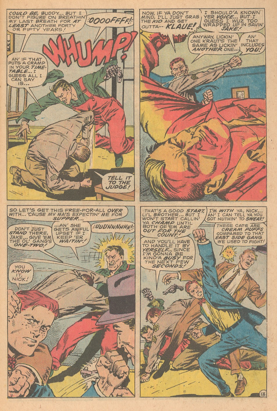 Read online Sgt. Fury comic -  Issue #68 - 19