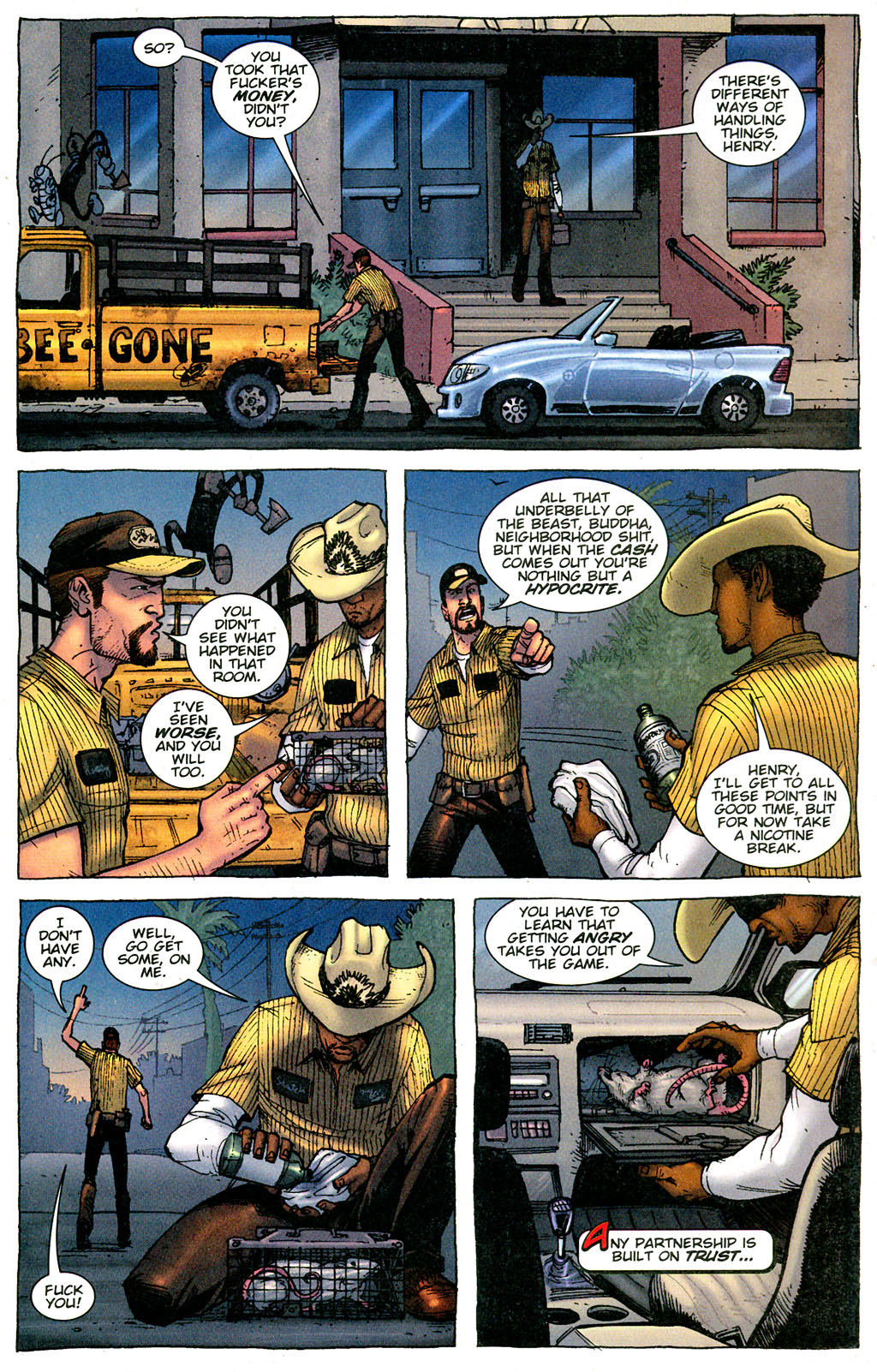 Read online The Exterminators comic -  Issue #3 - 13