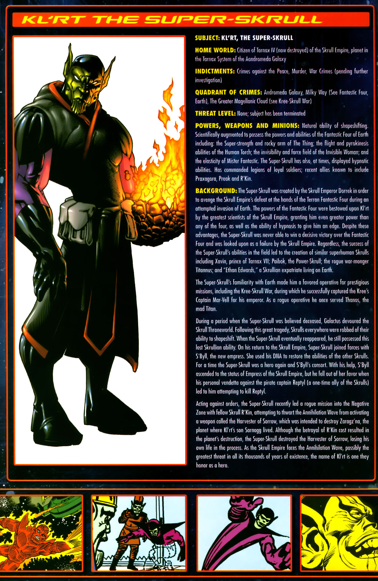 Read online Annihilation:  The  Nova Corps Files comic -  Issue #Annihilation:  The  Nova Corps Files Full - 41