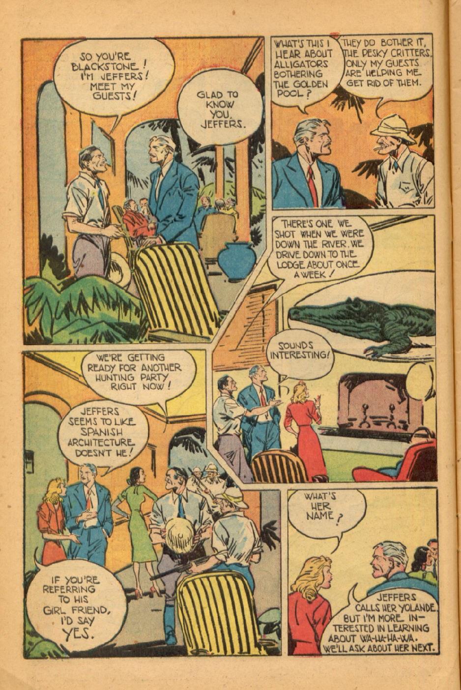 Read online Super-Magician Comics comic -  Issue #45 - 8