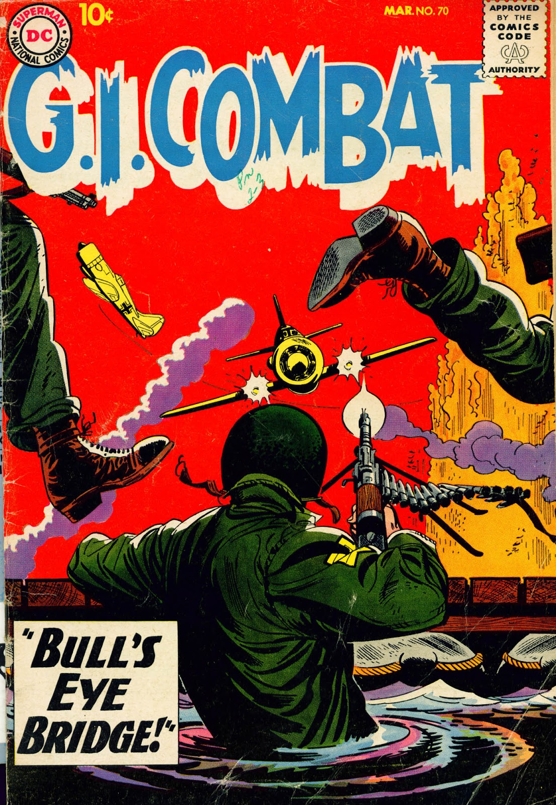 G.I. Combat (1952) issue 70 - Page 1