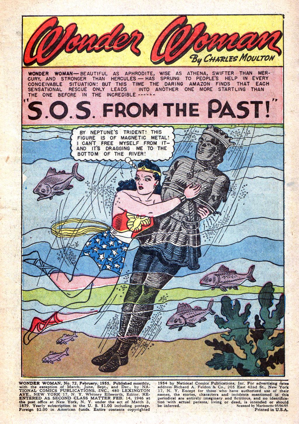 Read online Wonder Woman (1942) comic -  Issue #72 - 3