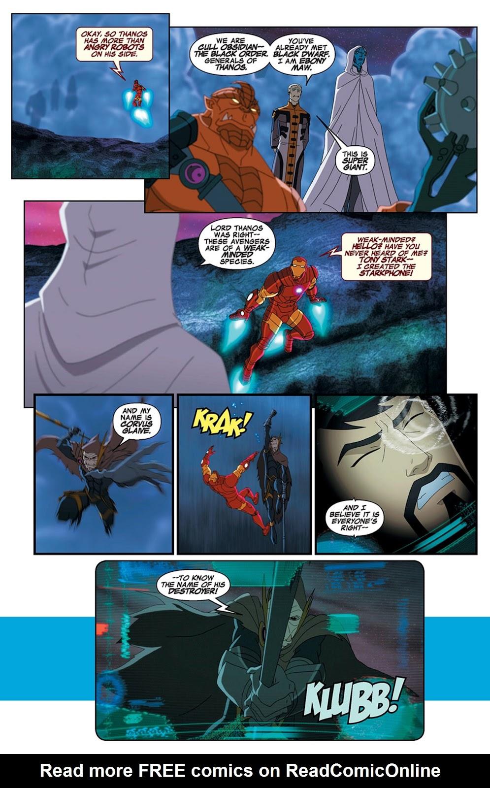 Read online Marvel Universe Avengers Assemble Season 2 comic -  Issue #15 - 13