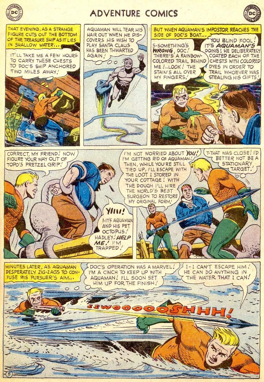 Read online Adventure Comics (1938) comic -  Issue #257 - 31