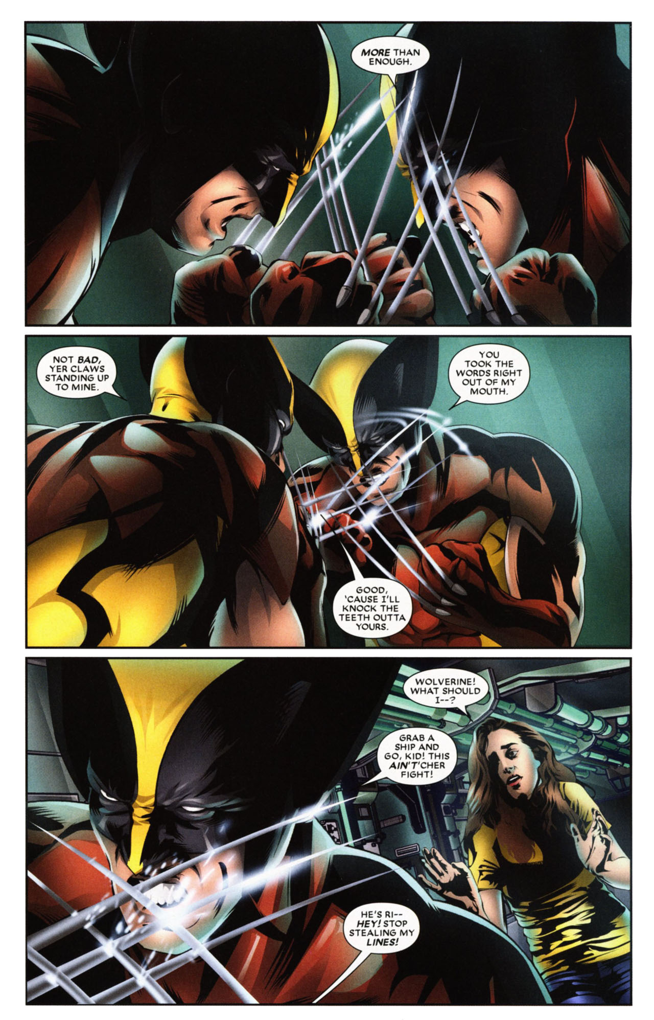 Read online Wolverine: First Class comic -  Issue #20 - 18