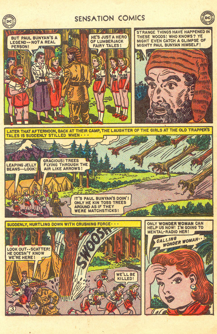Read online Sensation (Mystery) Comics comic -  Issue #105 - 5