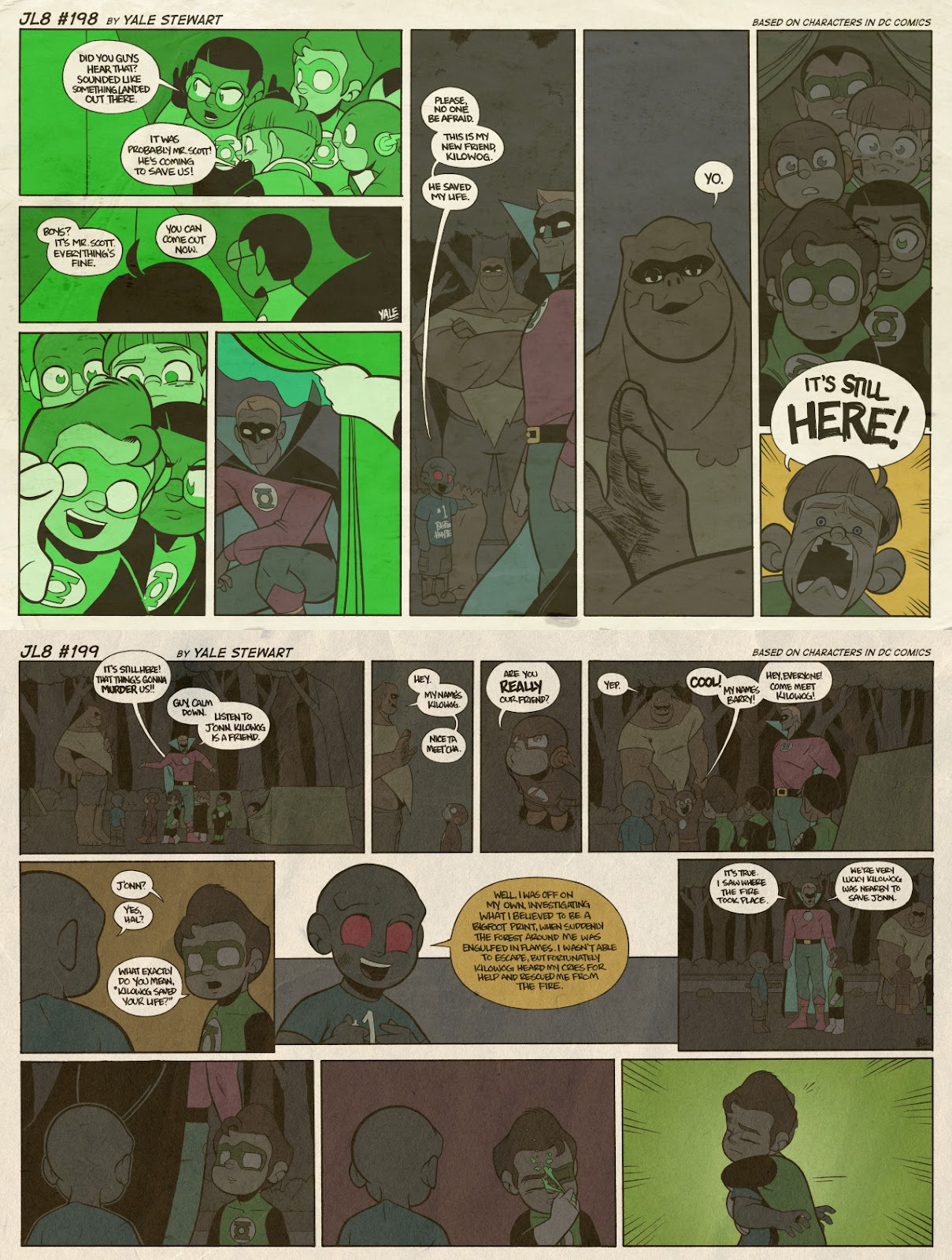 Read online JL8 – The Complete Collection comic -  Issue # TPB (Part 2) - 23