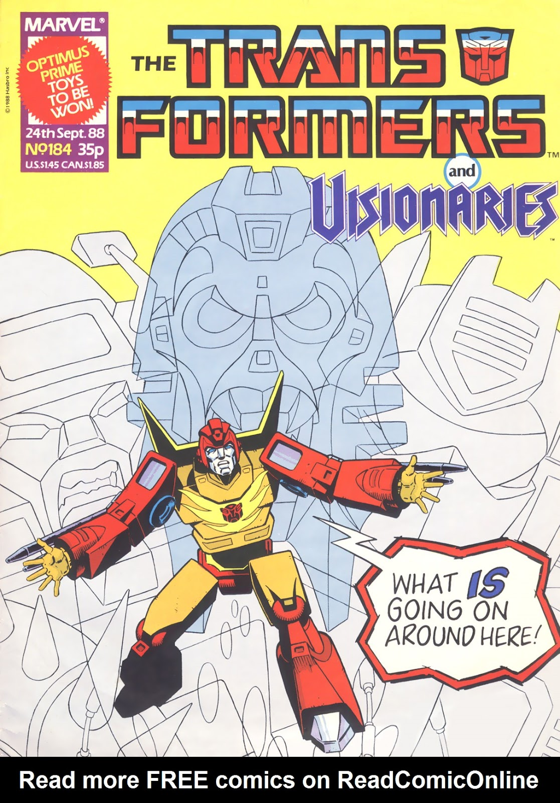 The Transformers (UK) 184 Page 1