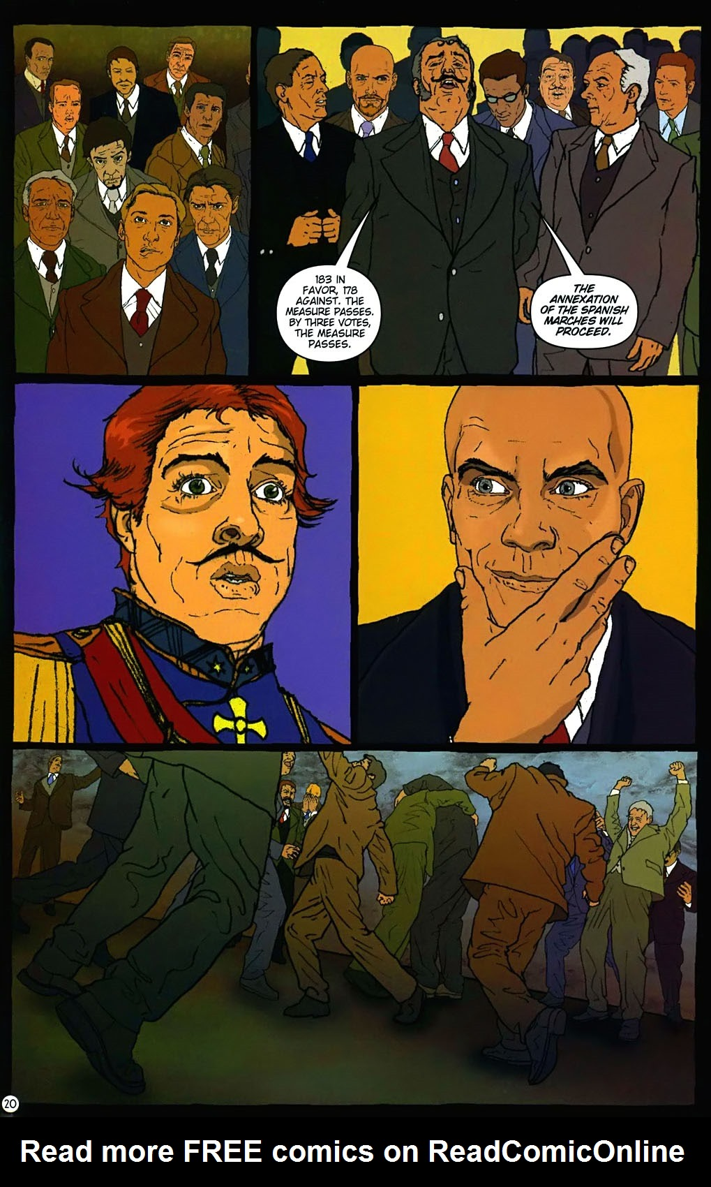 Read online Rex Mundi comic -  Issue #15 - 24