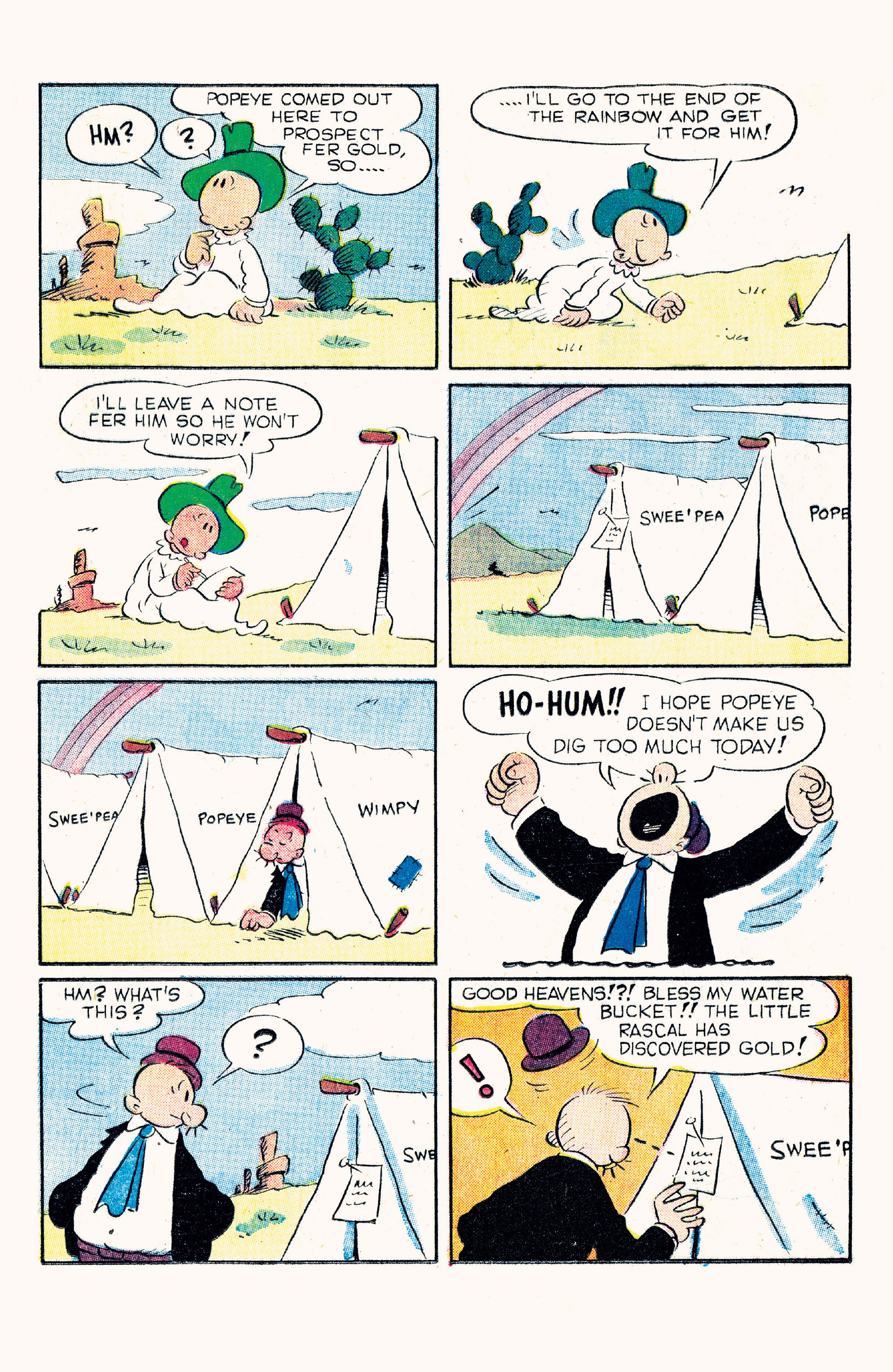 Read online Classic Popeye comic -  Issue #57 - 20
