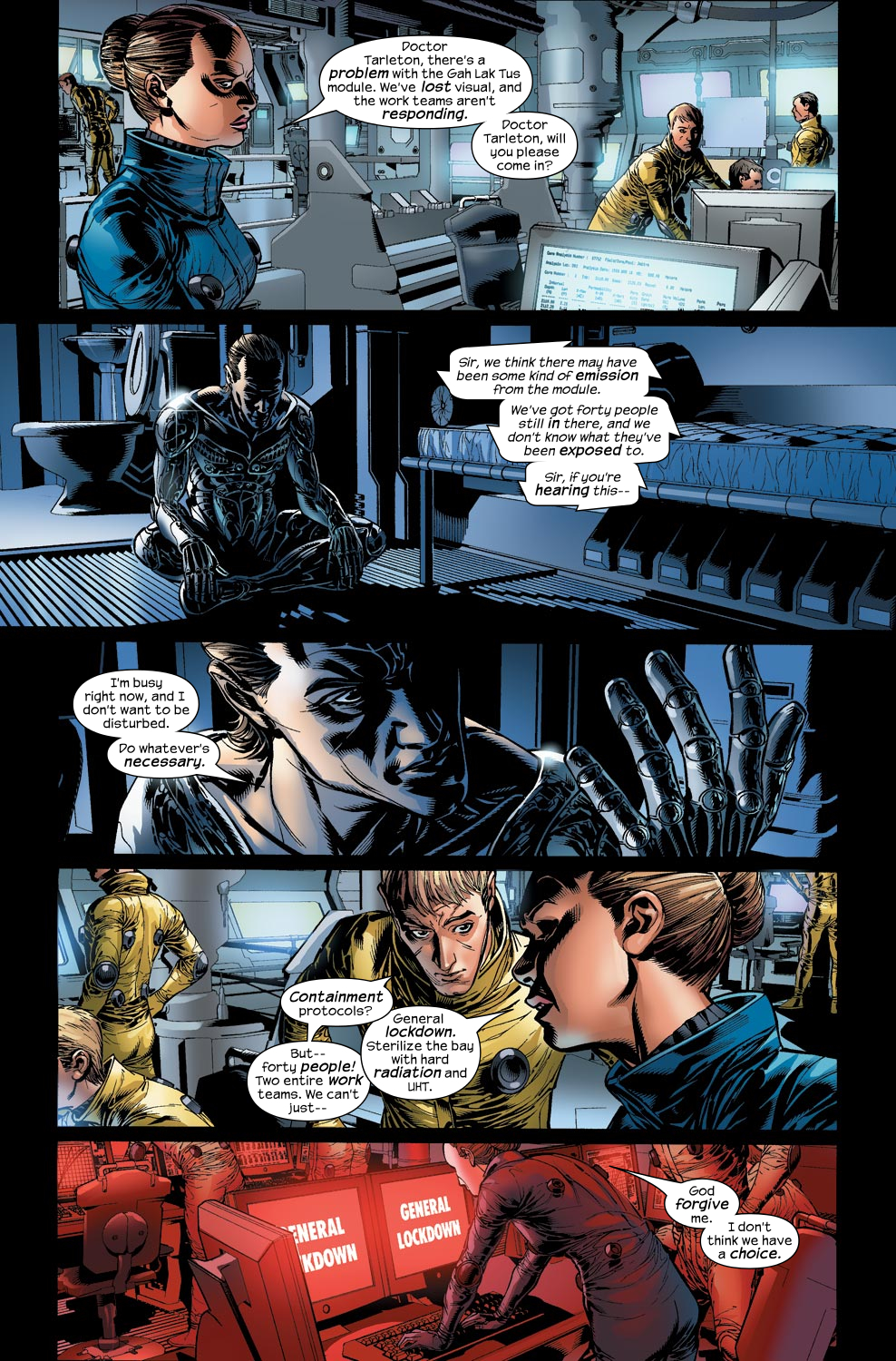 Read online Ultimate Vision comic -  Issue #2 - 17