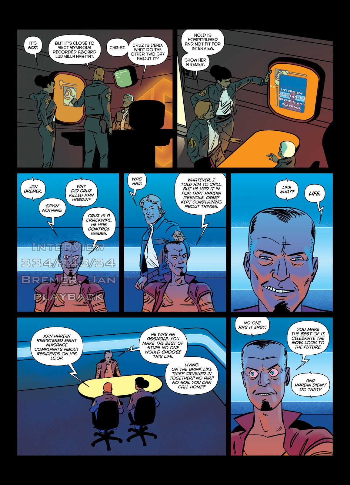 Read online Brink comic -  Issue # TPB 1 - 13