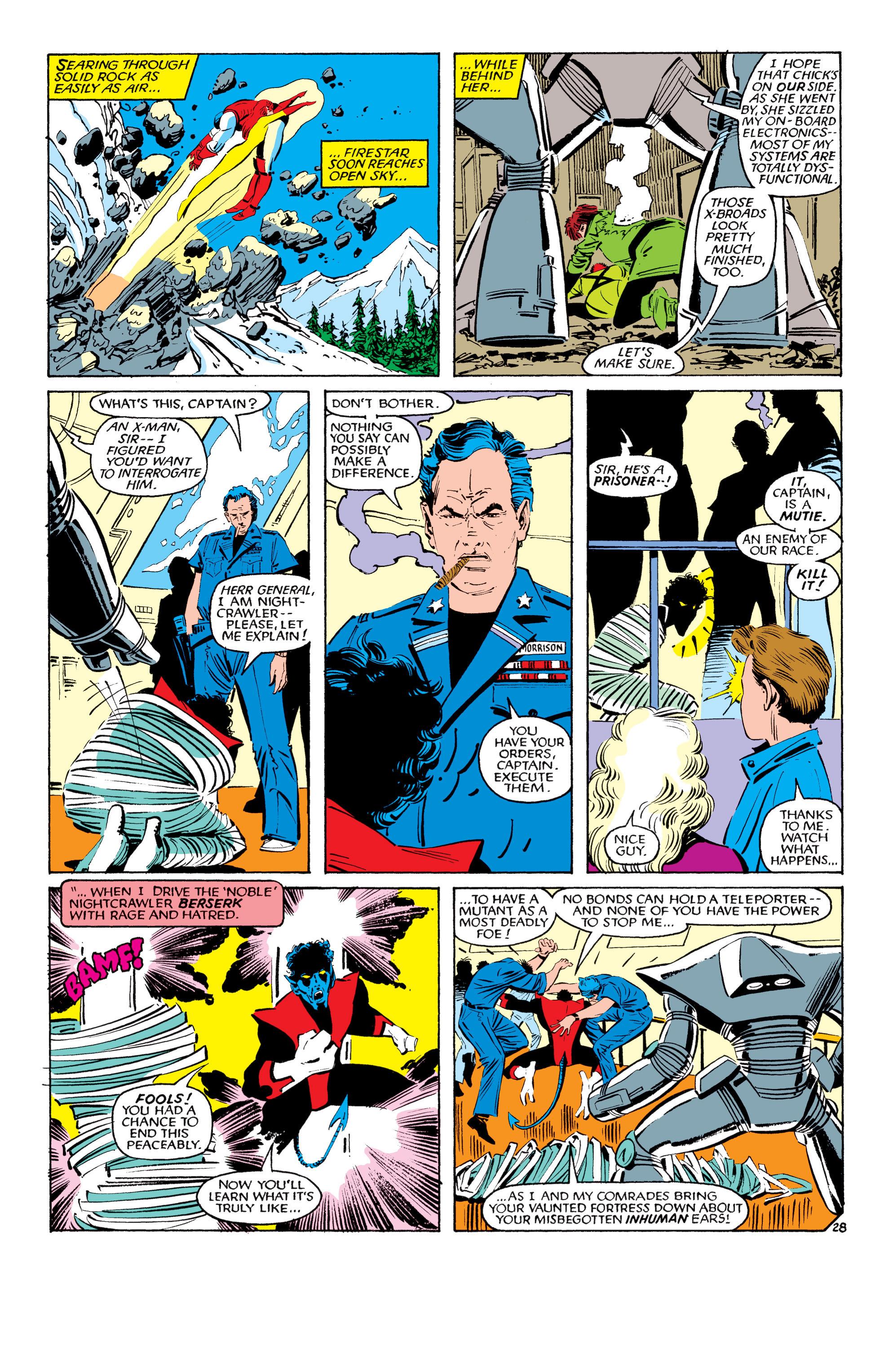Read online Uncanny X-Men (1963) comic -  Issue #193 - 29