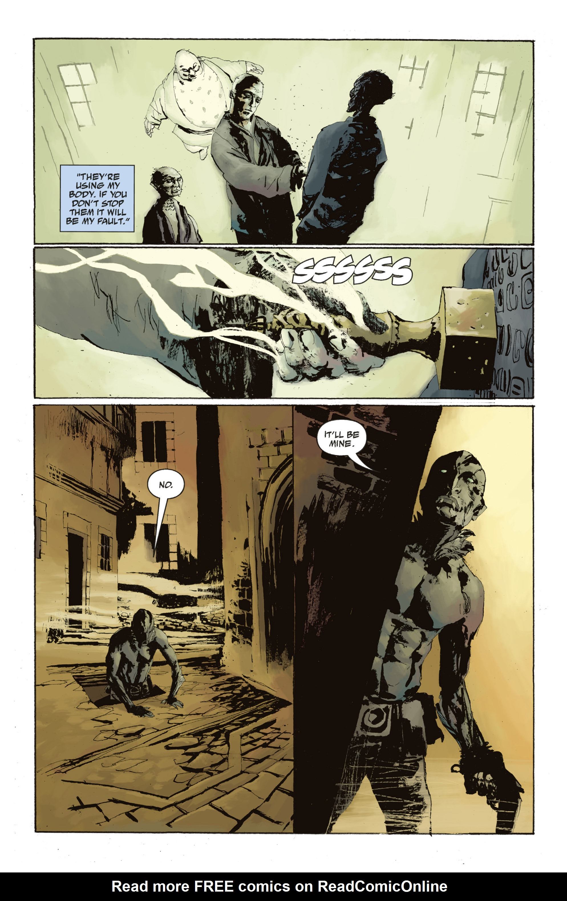 Read online Abe Sapien: The Drowning comic -  Issue #Abe Sapien: The Drowning _TPB - 117