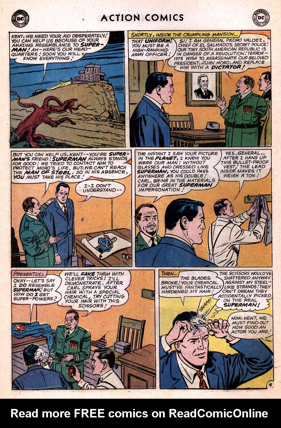 Read online Action Comics (1938) comic -  Issue #306 - 5