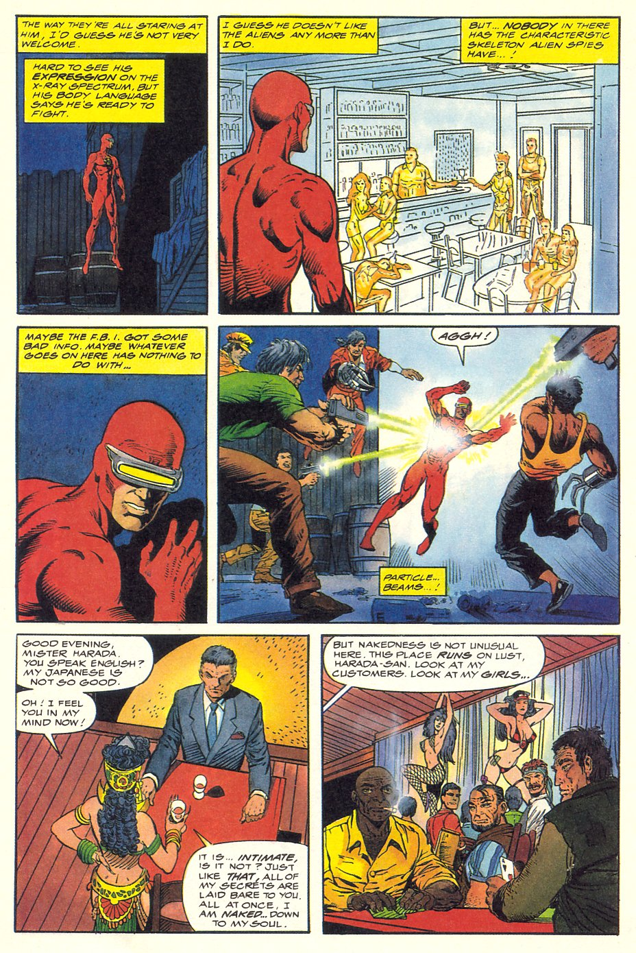 Read online Solar, Man of the Atom comic -  Issue #8 - 29