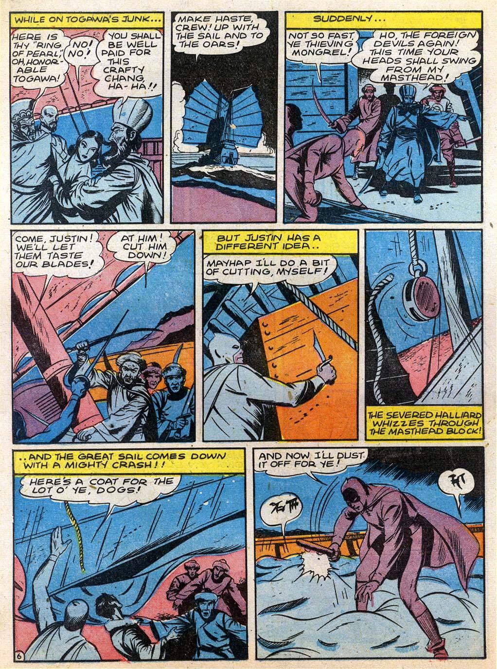 Read online Sensation (Mystery) Comics comic -  Issue #27 - 22