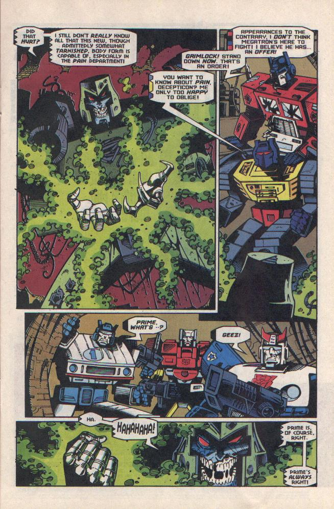 Read online Transformers: Generation 2 comic -  Issue #8 - 6
