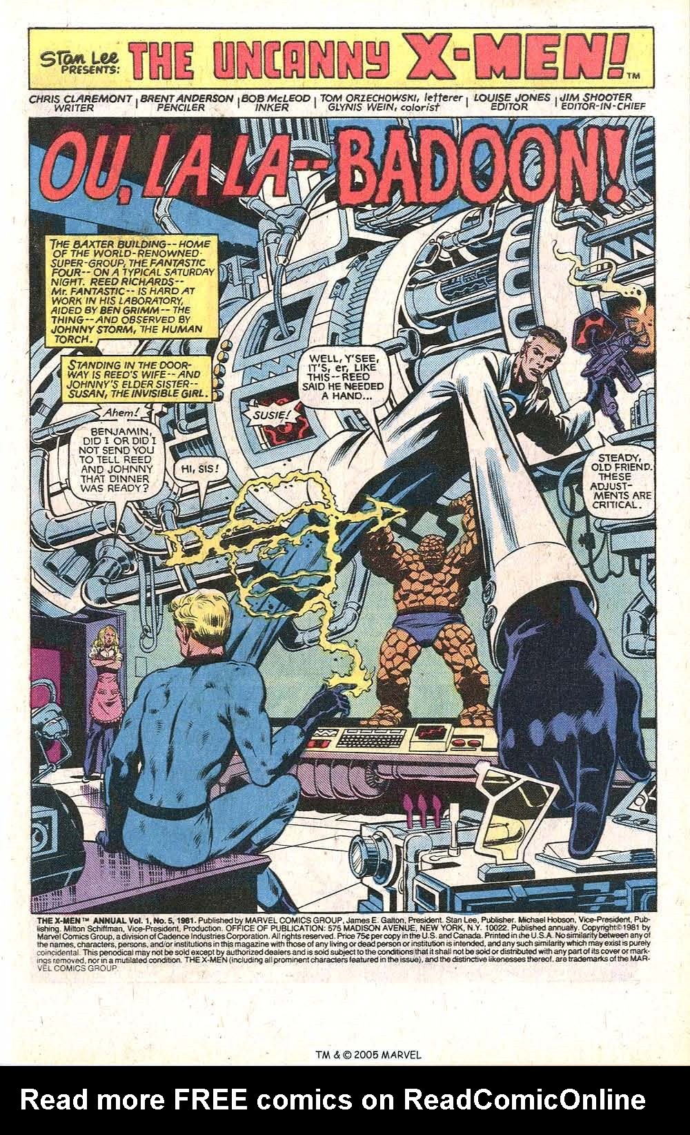 Read online Uncanny X-Men (1963) comic -  Issue # _Annual 5 - 3