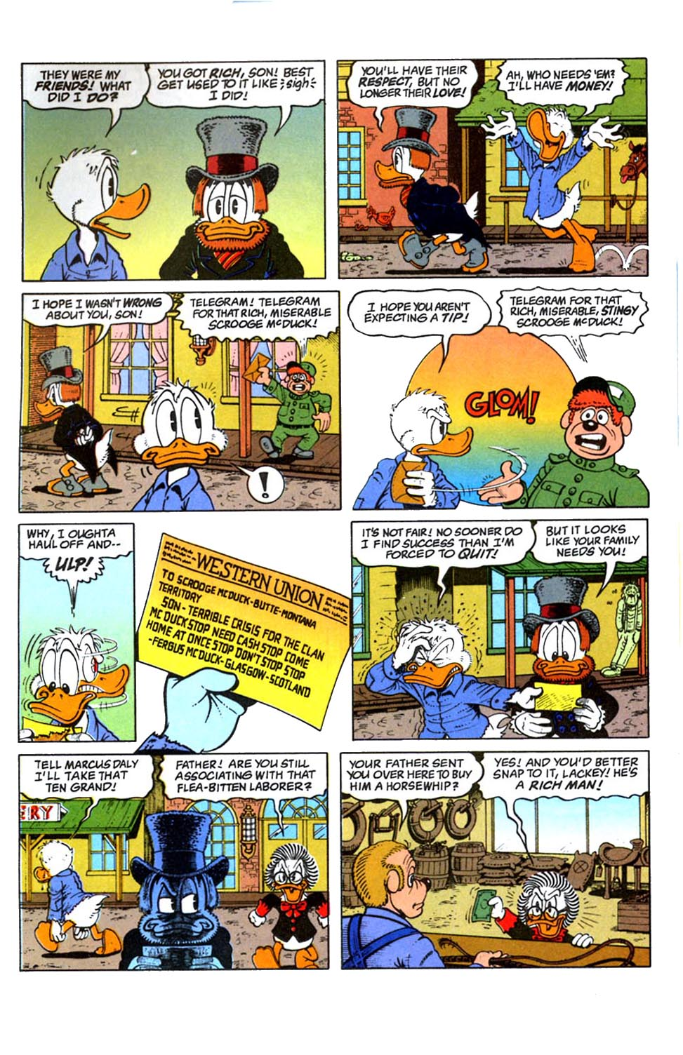 Read online Uncle Scrooge (1953) comic -  Issue #288 - 16
