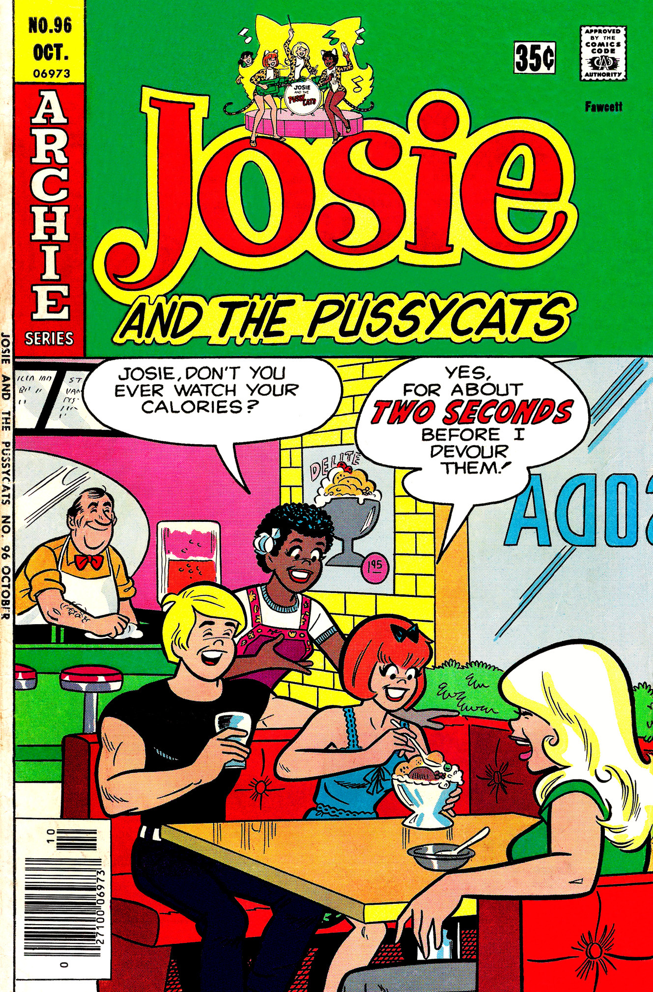 Read online She's Josie comic -  Issue #96 - 1