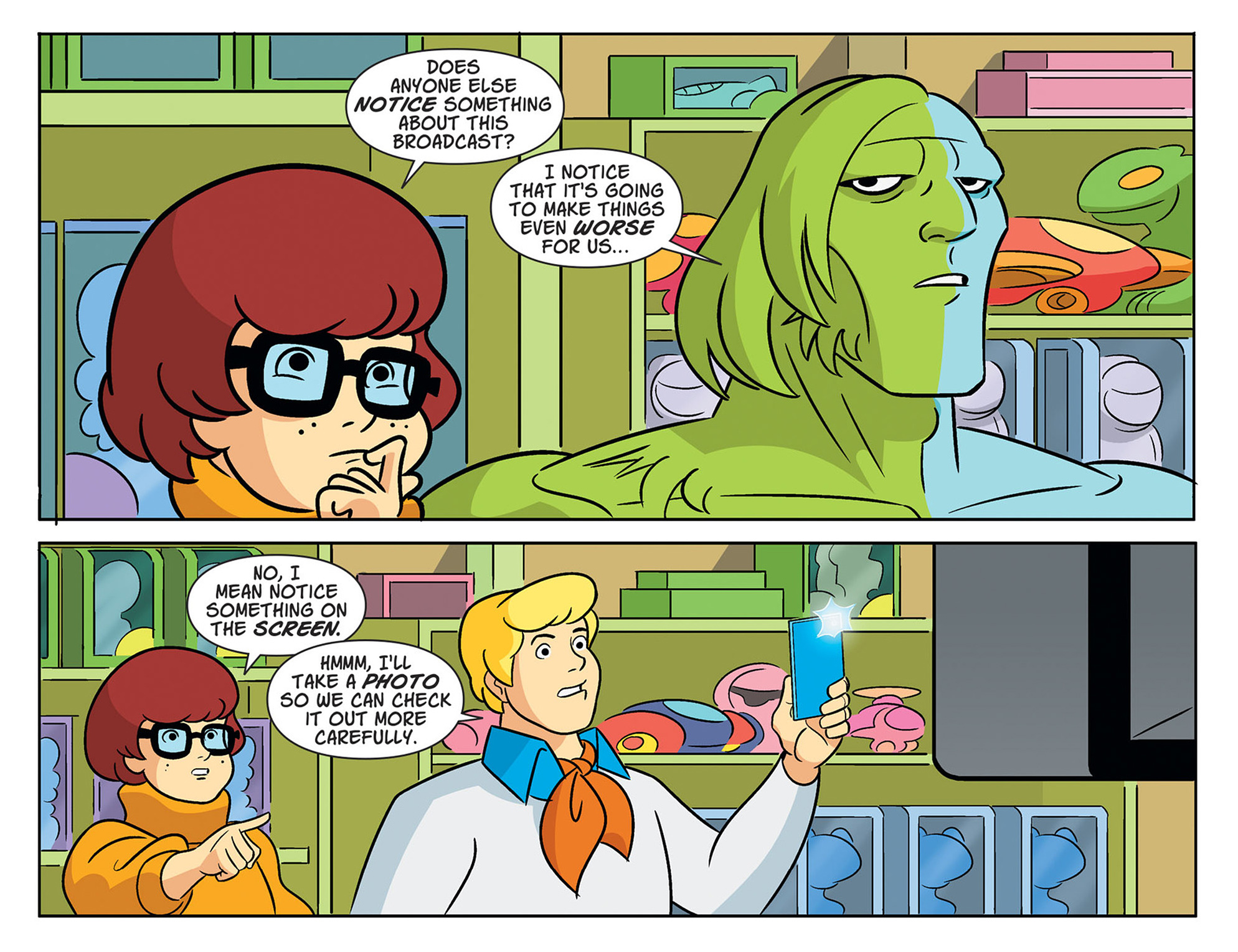 Read online Scooby-Doo! Team-Up comic -  Issue #47 - 19