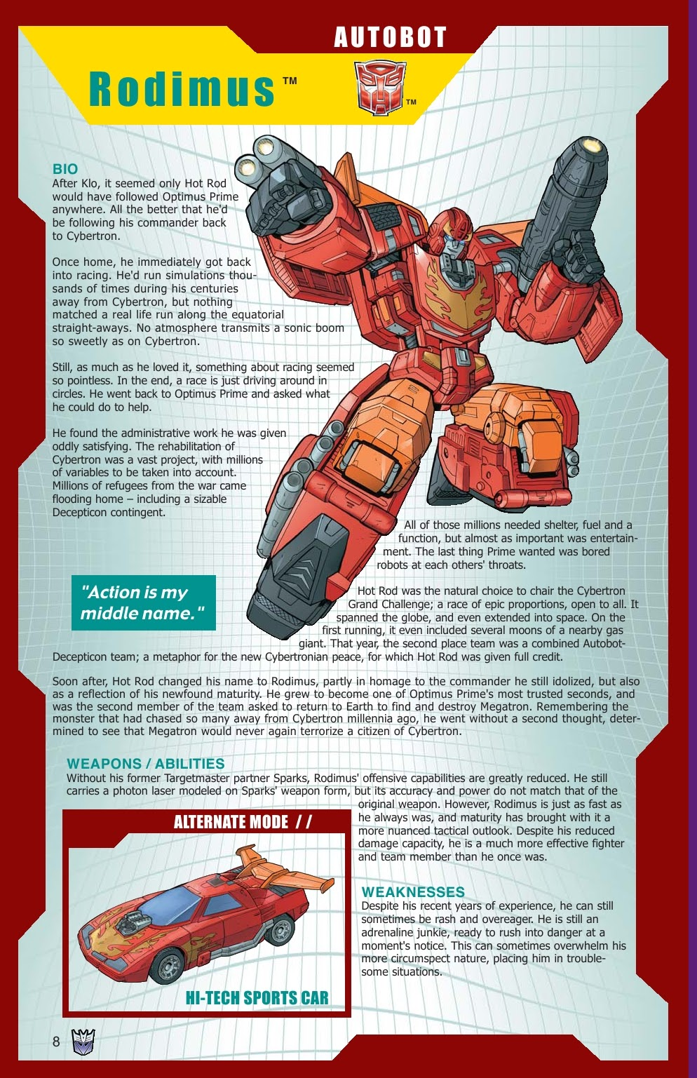 Read online Transformers: Collectors' Club comic -  Issue #15 - 8