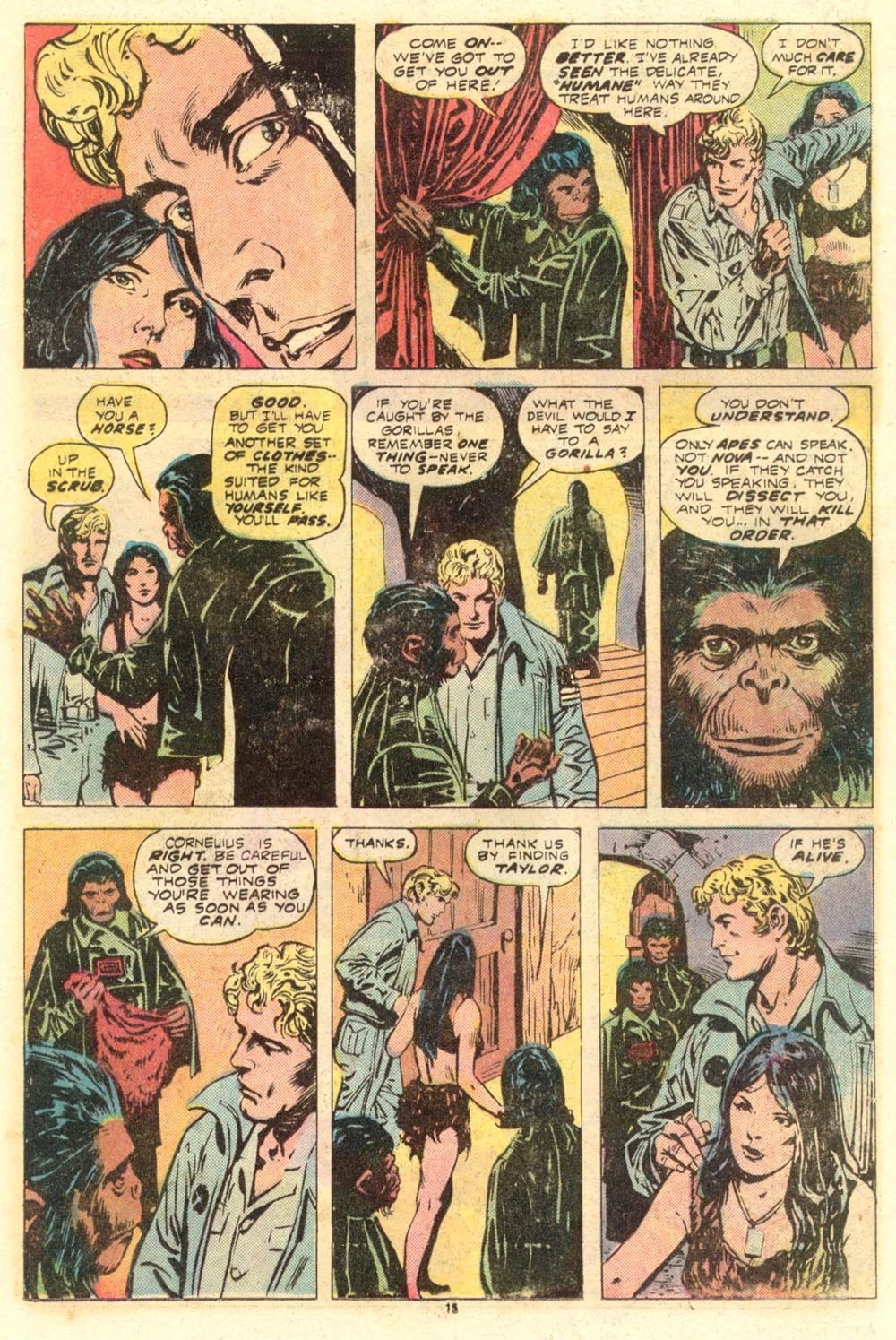 Read online Adventures on the Planet of the Apes comic -  Issue #8 - 10