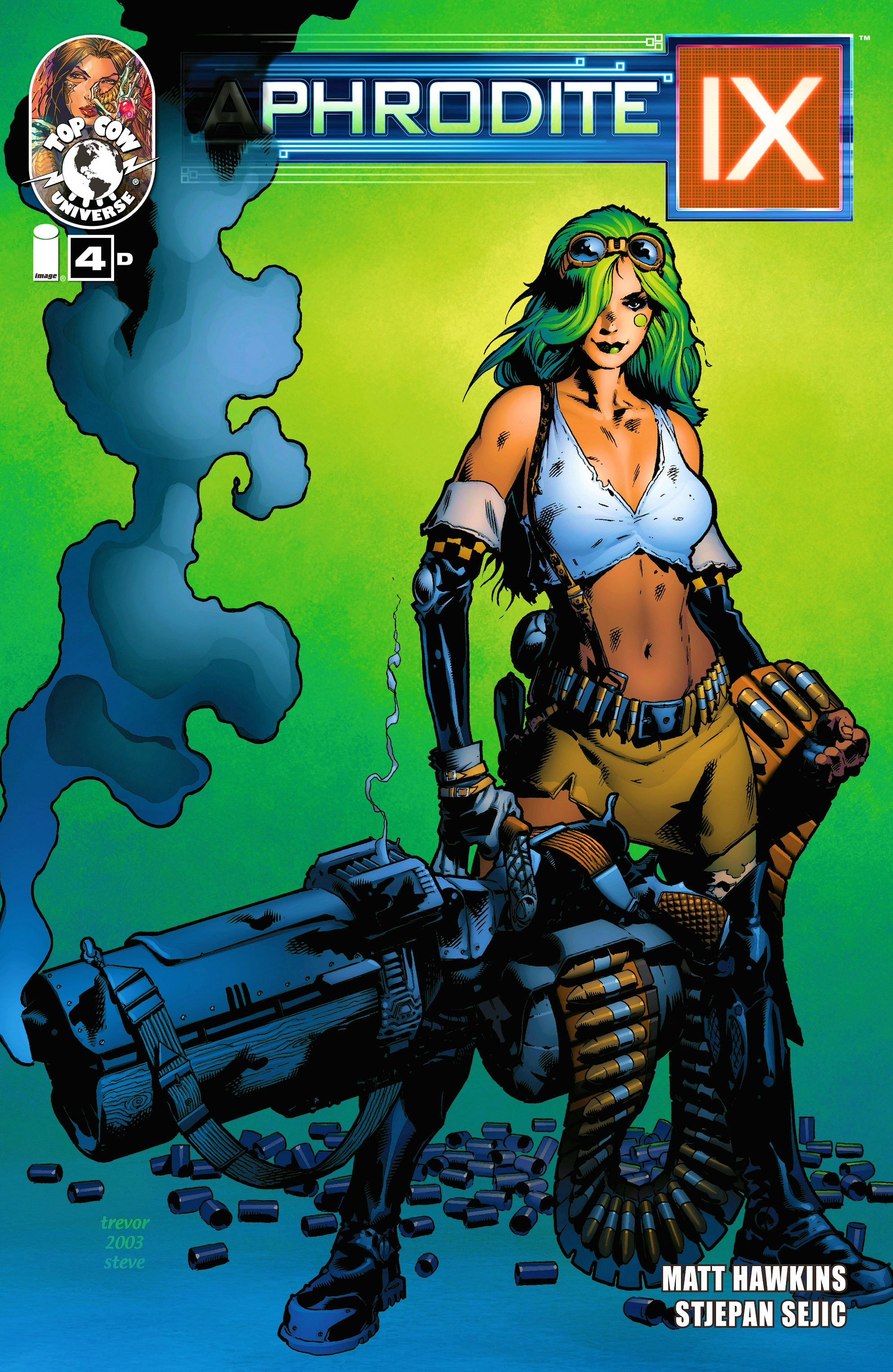 Read online Aphrodite IX (2013) comic -  Issue #4 - 4