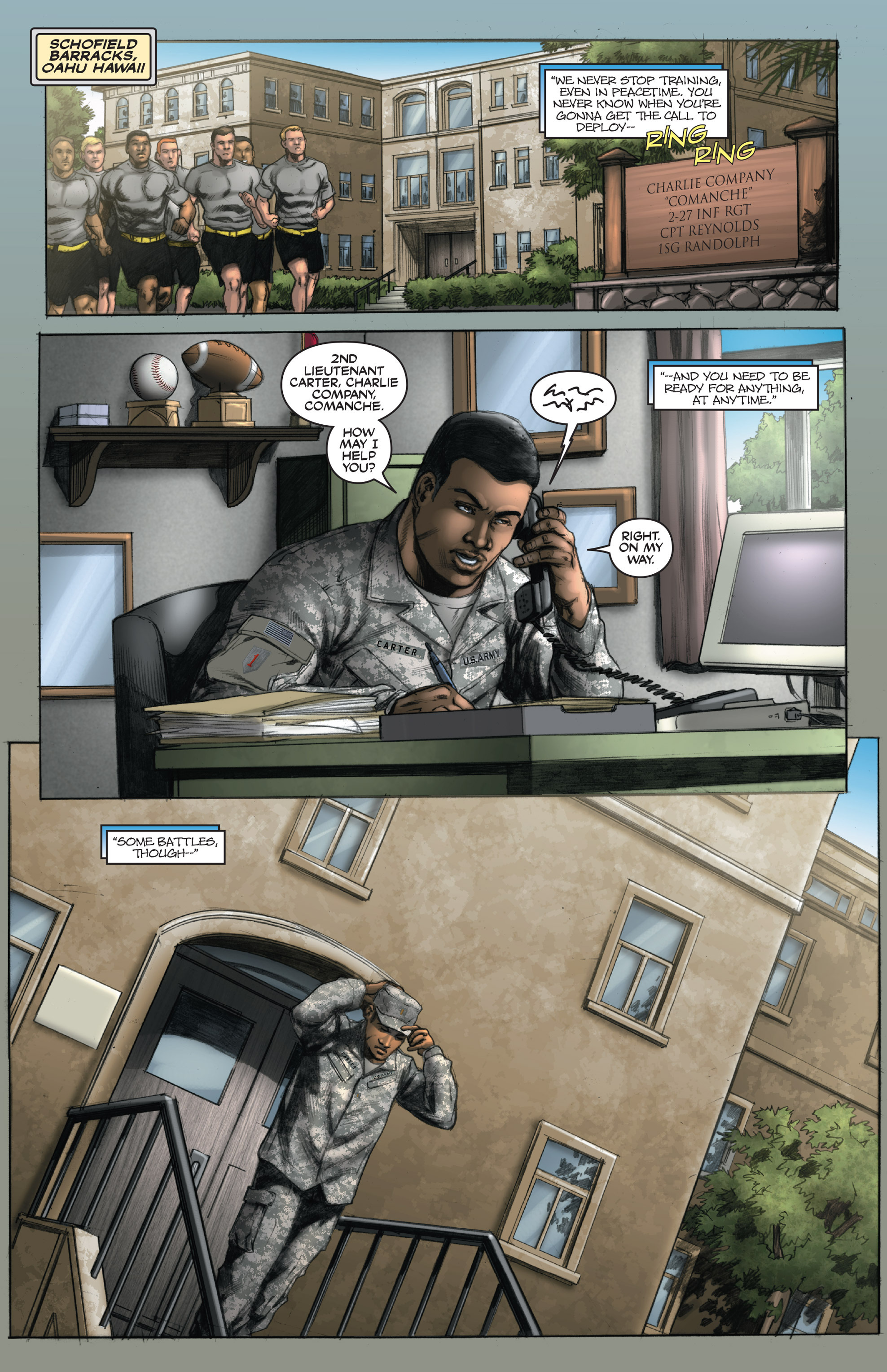 Read online America's Army comic -  Issue #14 - 3
