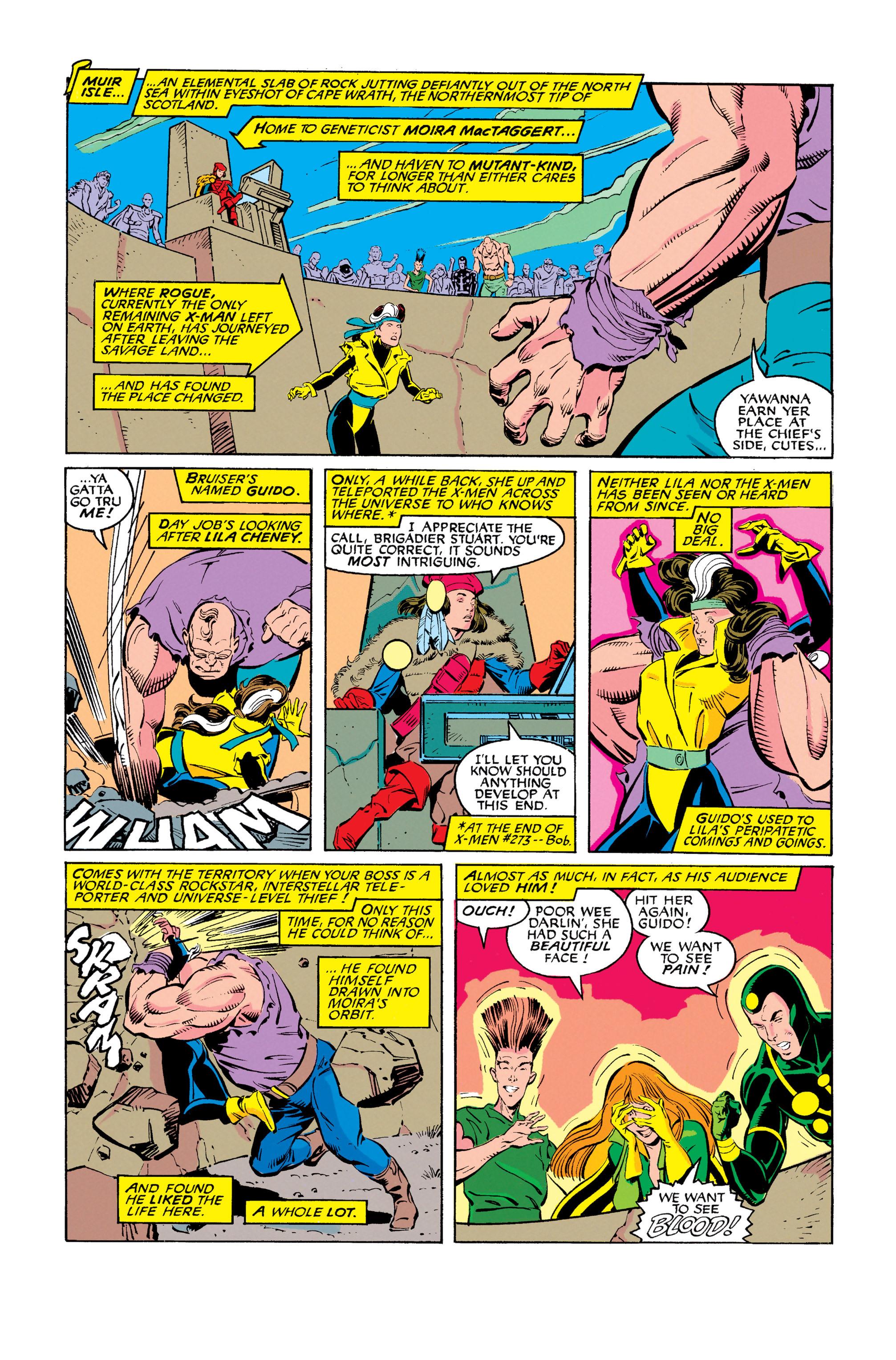 Read online Uncanny X-Men (1963) comic -  Issue #278 - 9