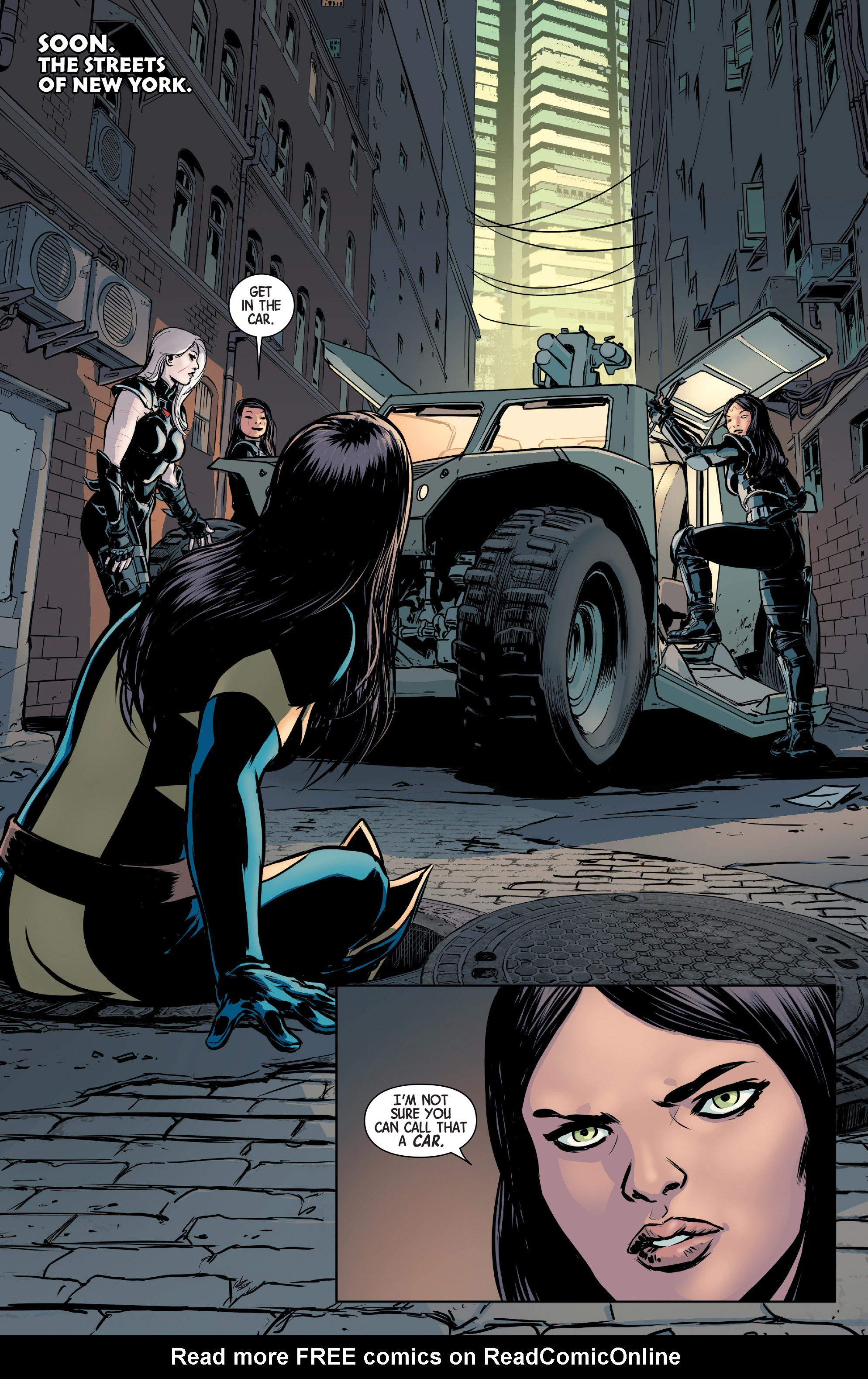 Read online All-New Wolverine (2016) comic -  Issue #3 - 9
