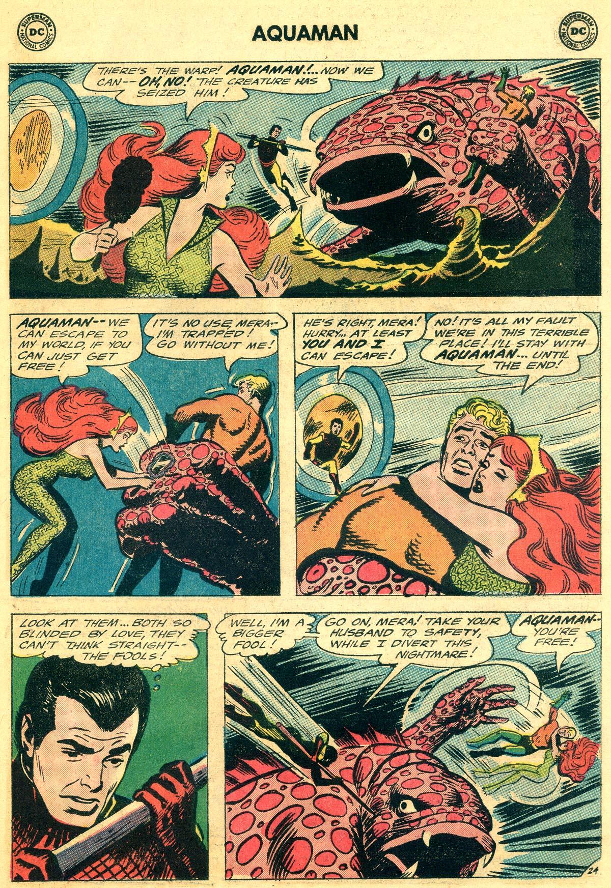 Read online Aquaman (1962) comic -  Issue #19 - 31
