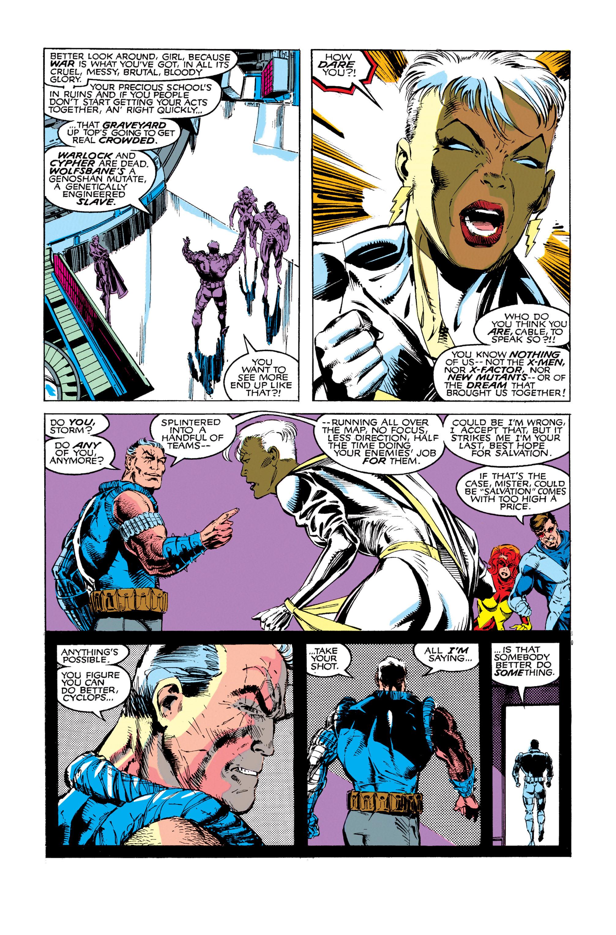 Read online Uncanny X-Men (1963) comic -  Issue #273 - 5