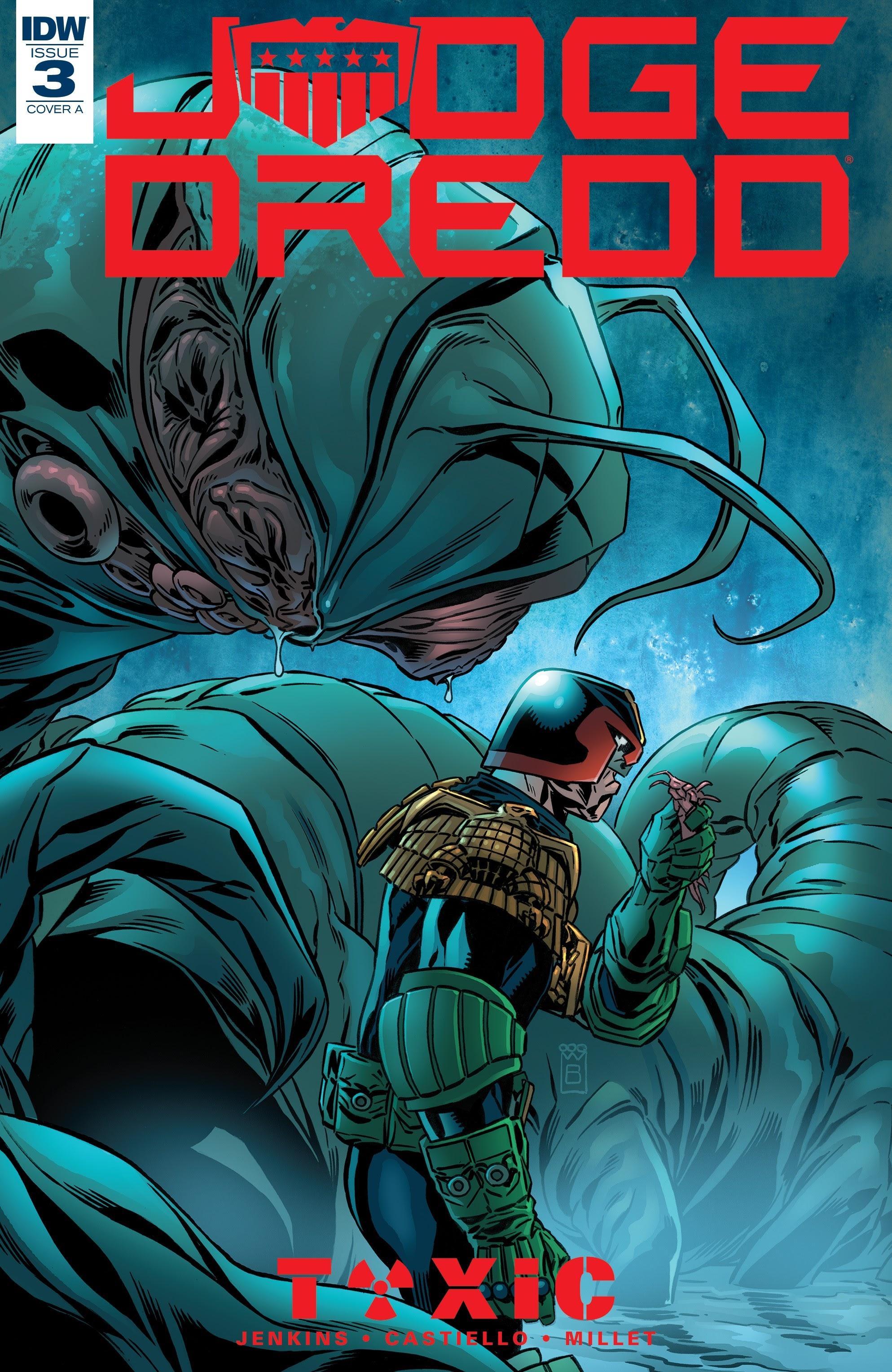 Judge Dredd: Toxic 3 Page 1