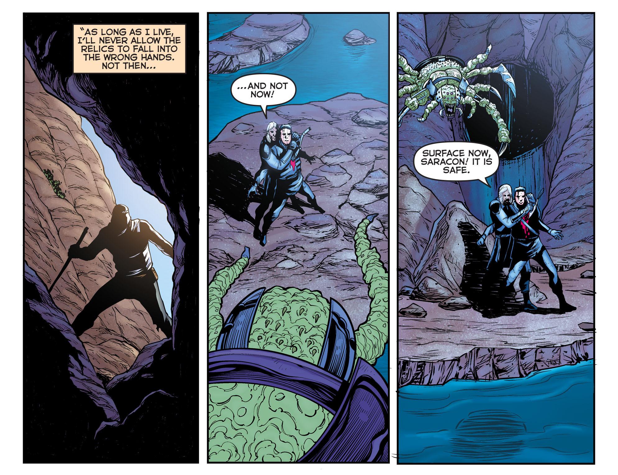 Read online Arrow: The Dark Archer comic -  Issue #11 - 8