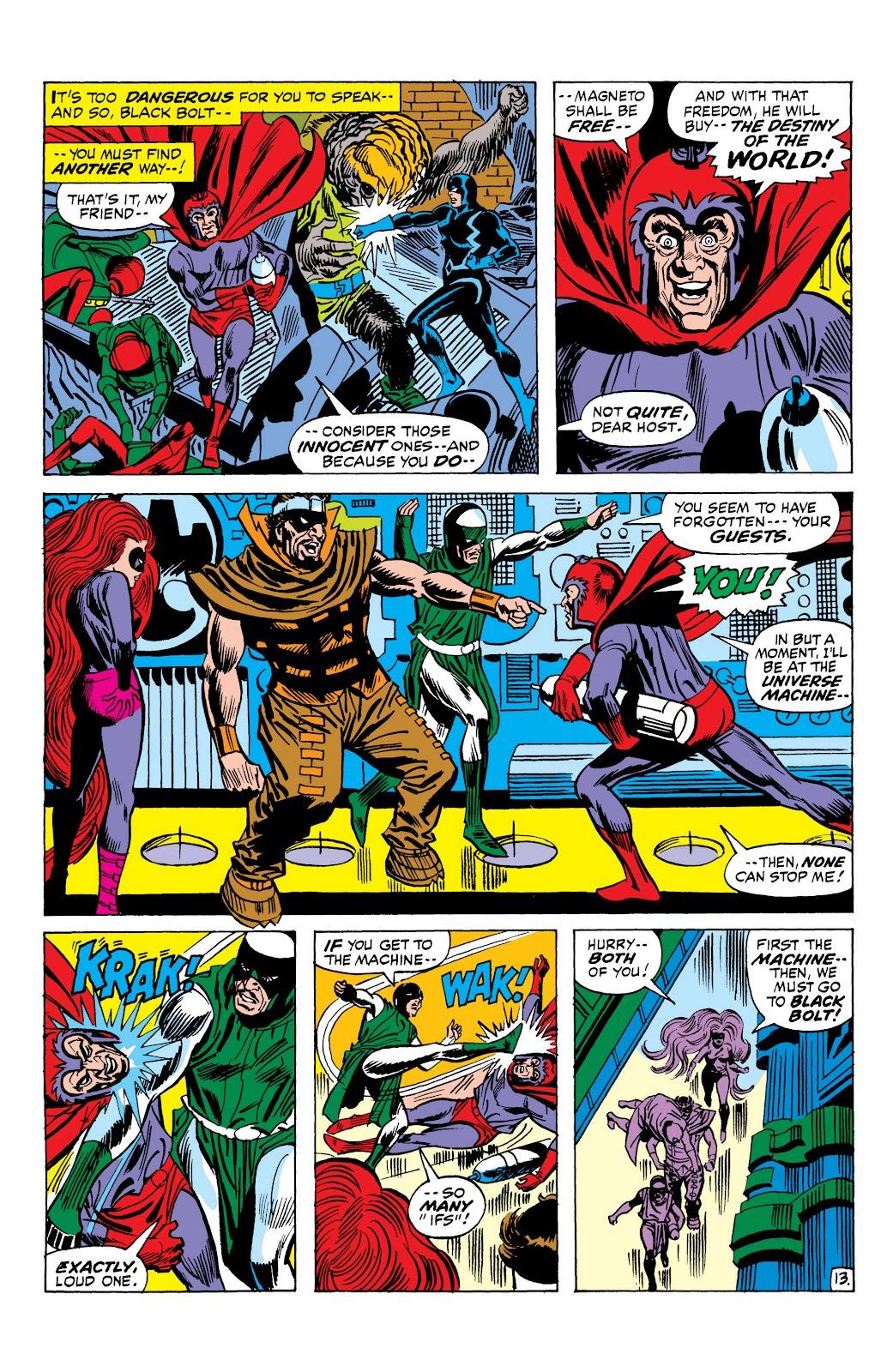 Read online Marvel Masterworks: The Inhumans comic -  Issue # TPB 1 (Part 2) - 91