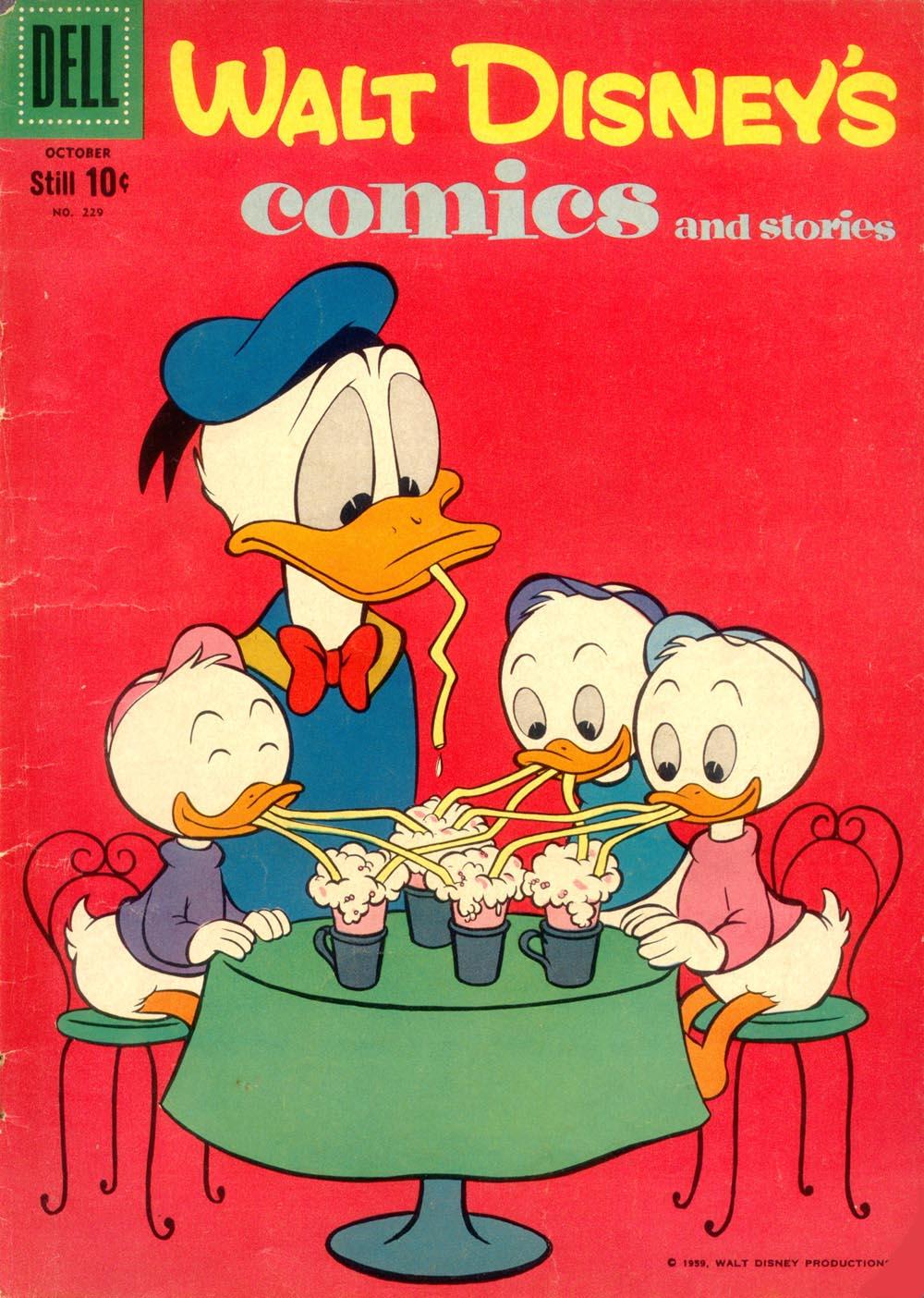 Walt Disneys Comics and Stories 229 Page 1