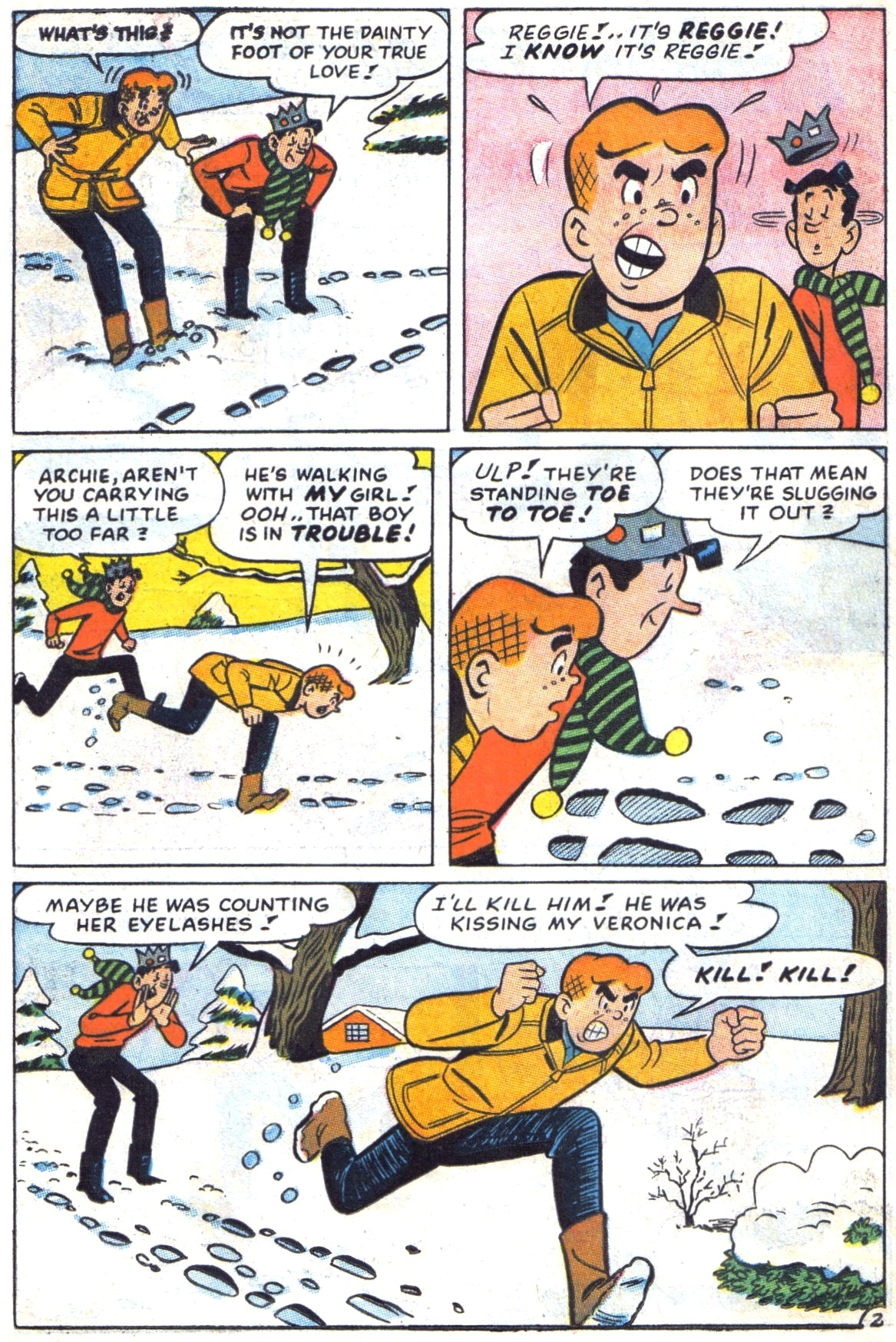 Read online Archie (1960) comic -  Issue #172 - 14