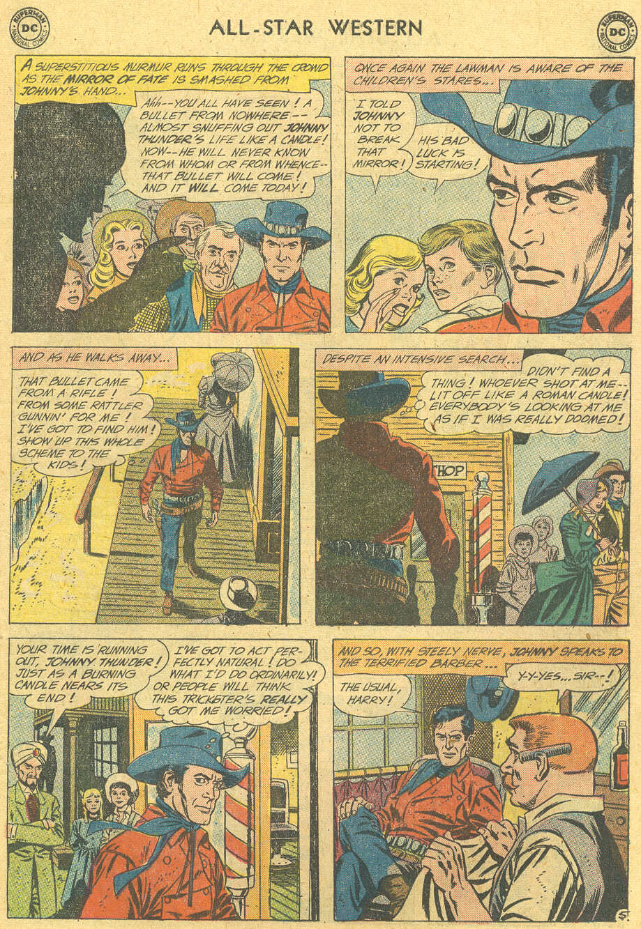 Read online All-Star Western (1951) comic -  Issue #114 - 7