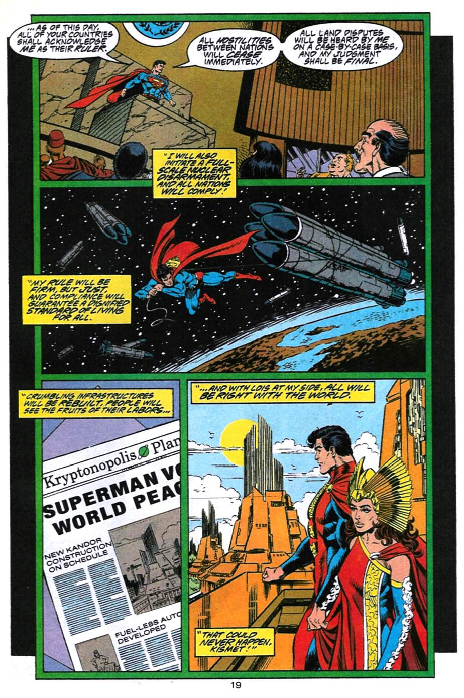Read online Adventures of Superman (1987) comic -  Issue #494 - 20
