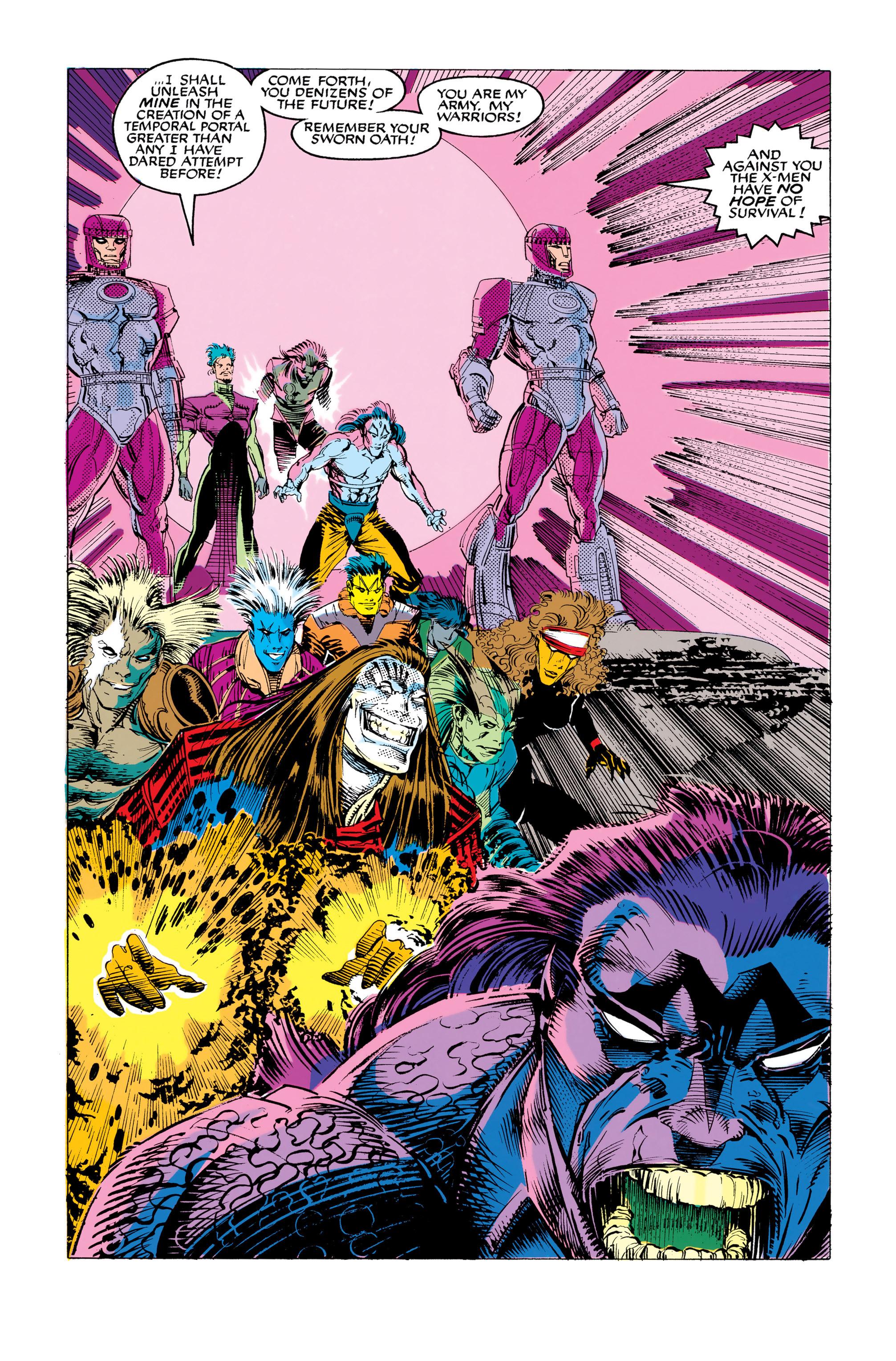 Read online Uncanny X-Men (1963) comic -  Issue #282 - 19
