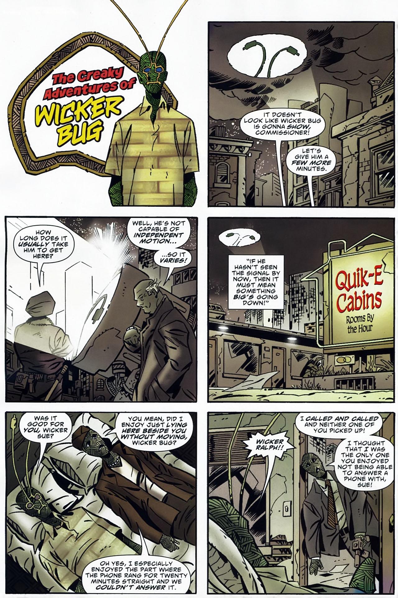 Read online Ambush Bug: Year None comic -  Issue #4 - 18