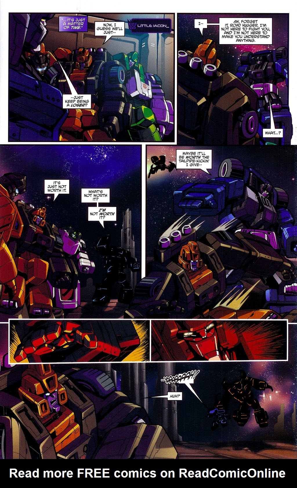 Read online Transformers: Micromasters comic -  Issue #3 - 5