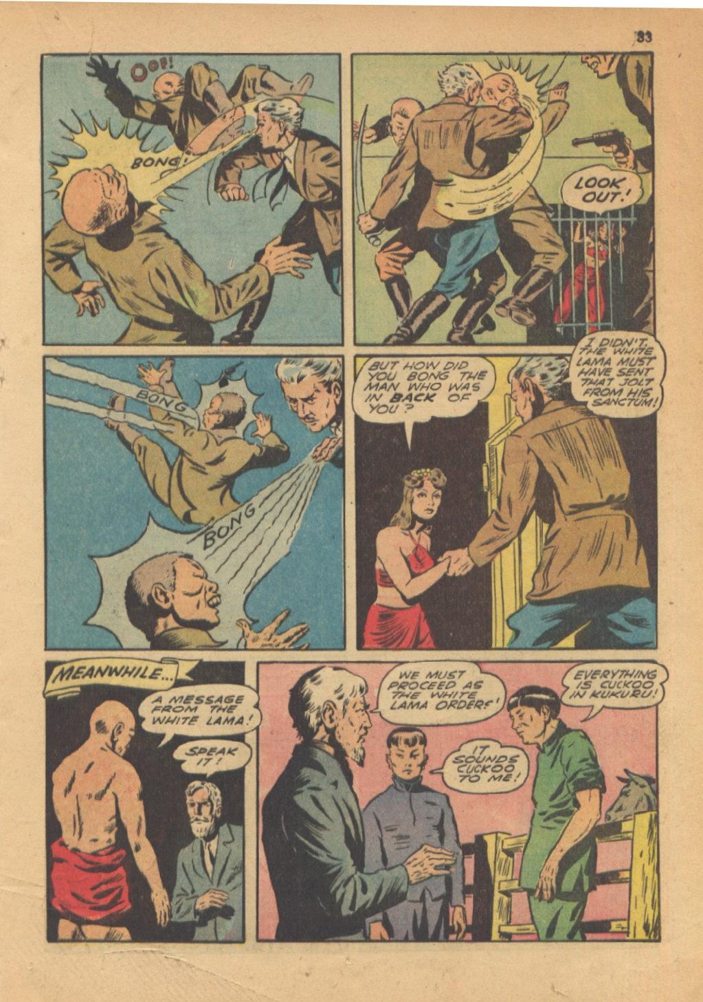Read online Super-Magician Comics comic -  Issue #13 - 33