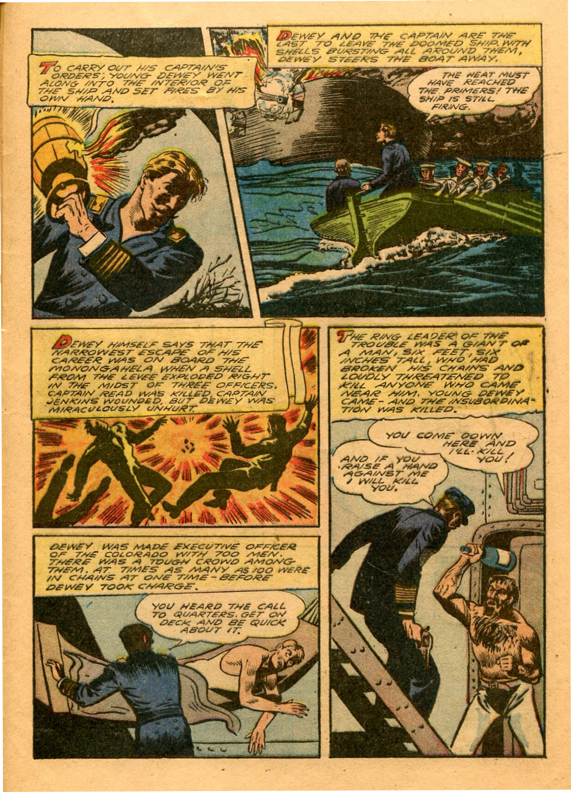 Read online Shadow Comics comic -  Issue #53 - 48