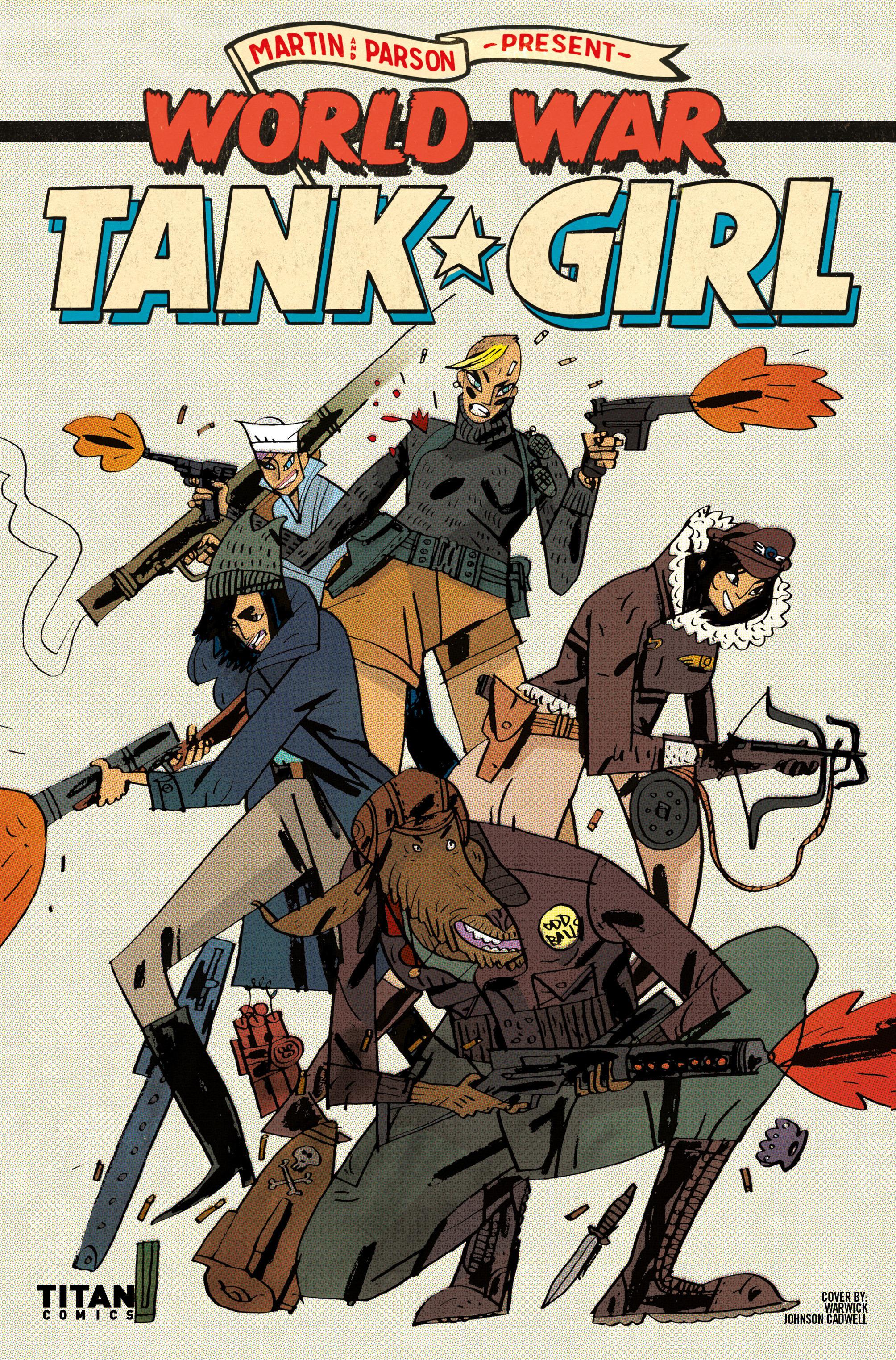 Read online Tank Girl: World War Tank Girl comic -  Issue #2 - 28