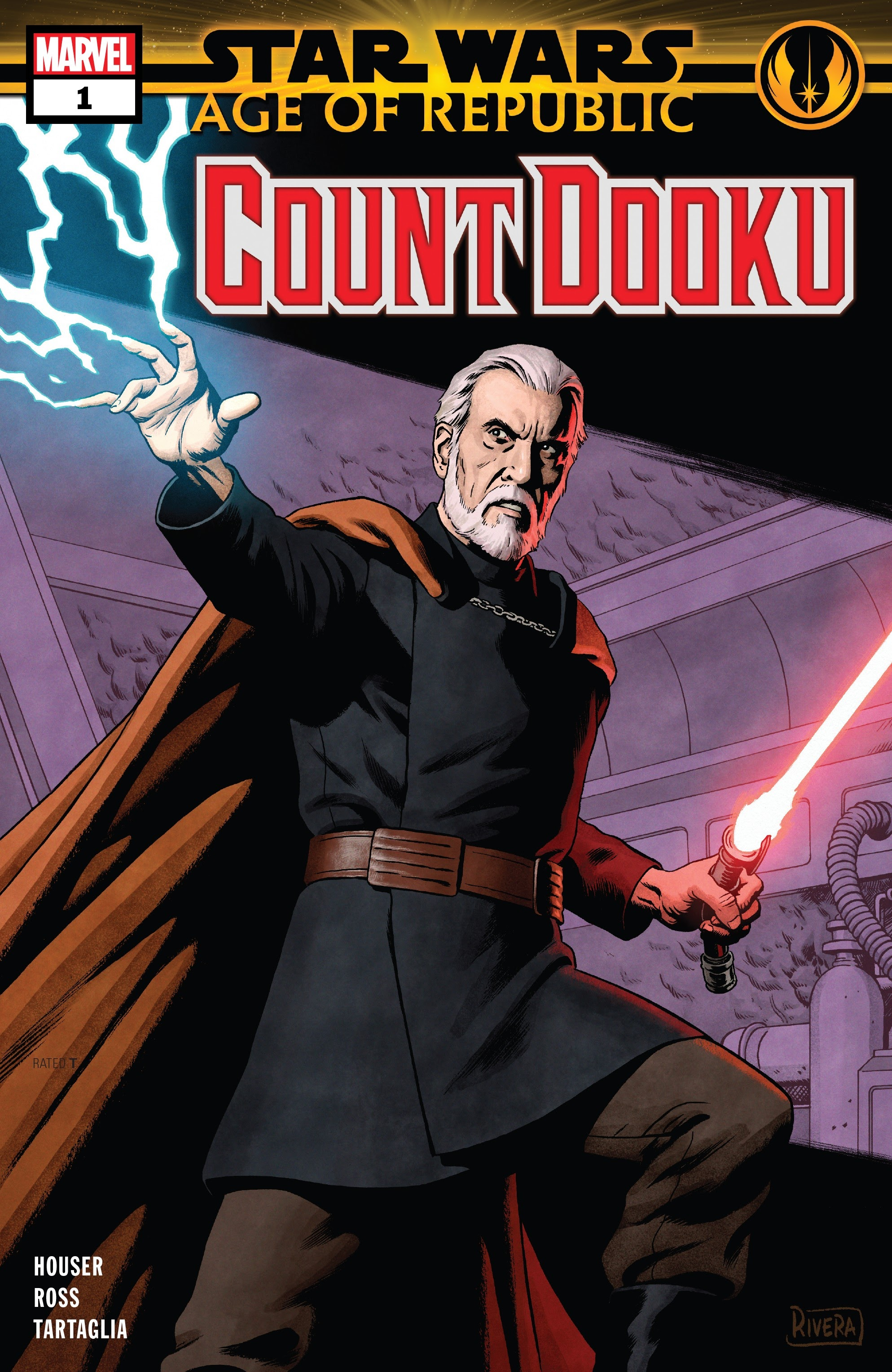 Star Wars: Age of Republic - Count Dooku Full Page 1