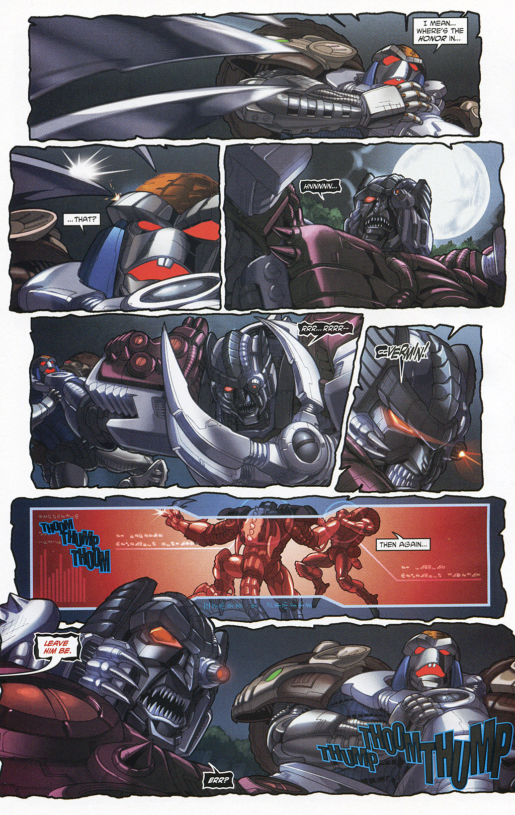 Read online Transformers 20th Anniversary Summer Special comic -  Issue # Full - 37