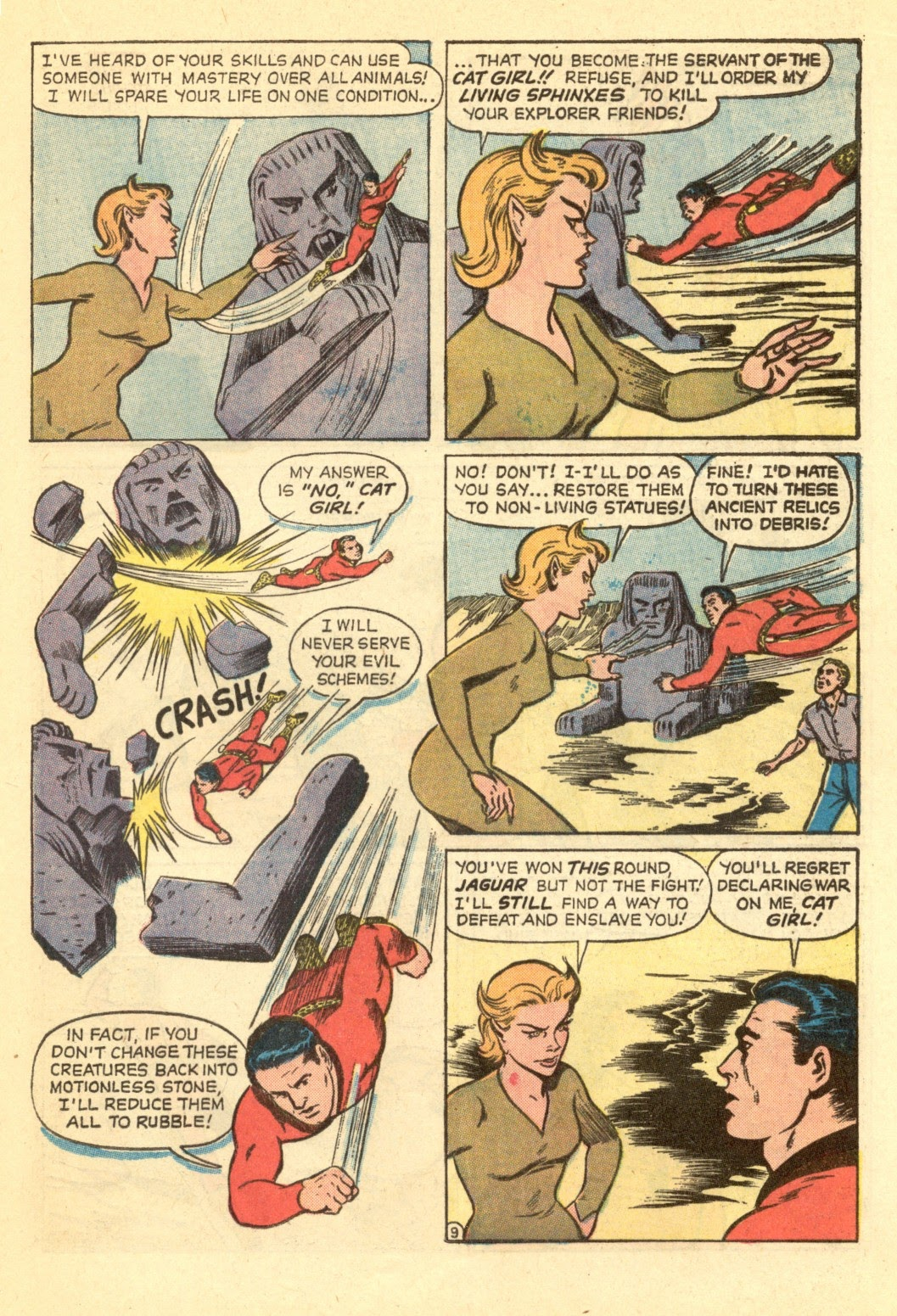 Adventures of the Jaguar issue 4 - Page 21